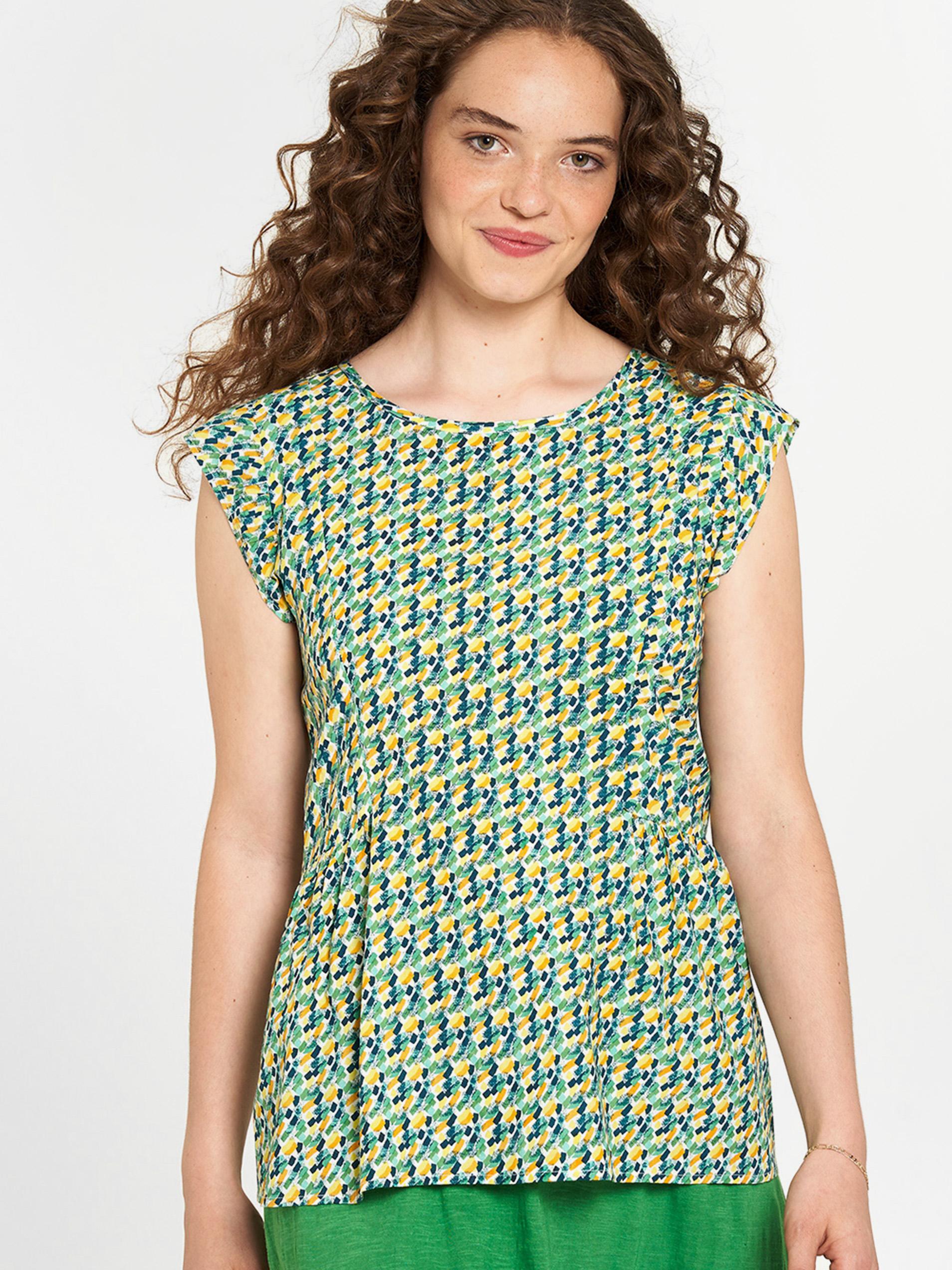 Tranquillo verzi bluză cu tipar