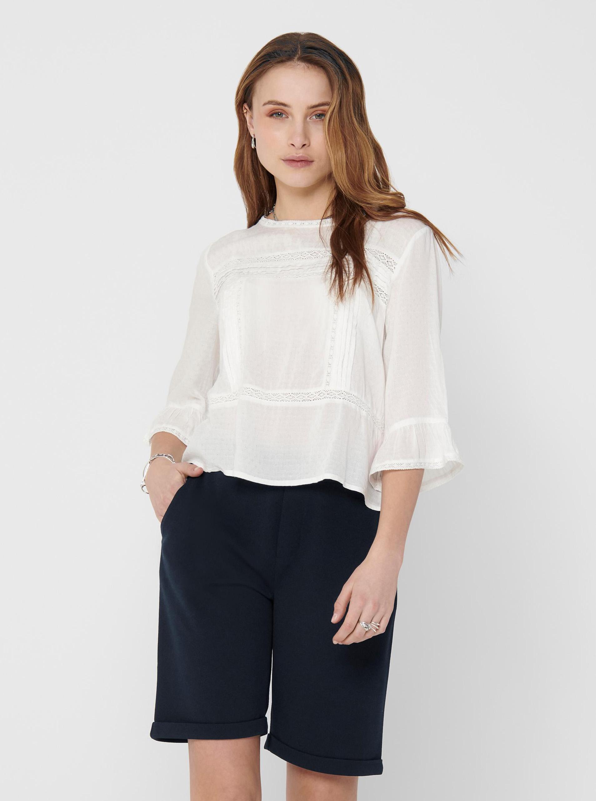 Only albe de dama bluză Anemone