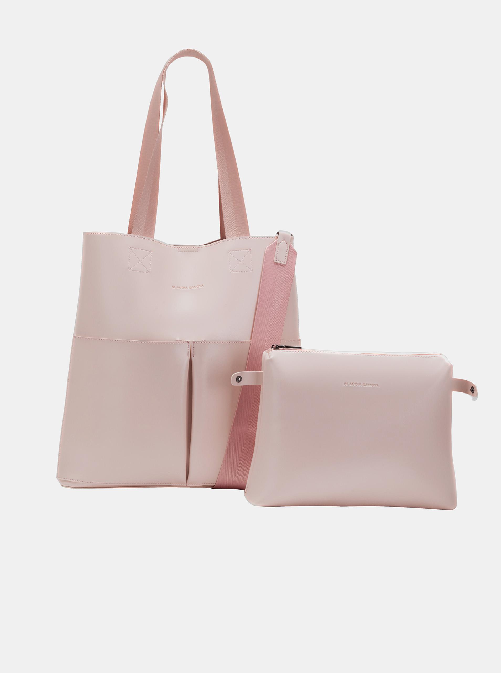 Claudia Canova roz geanta