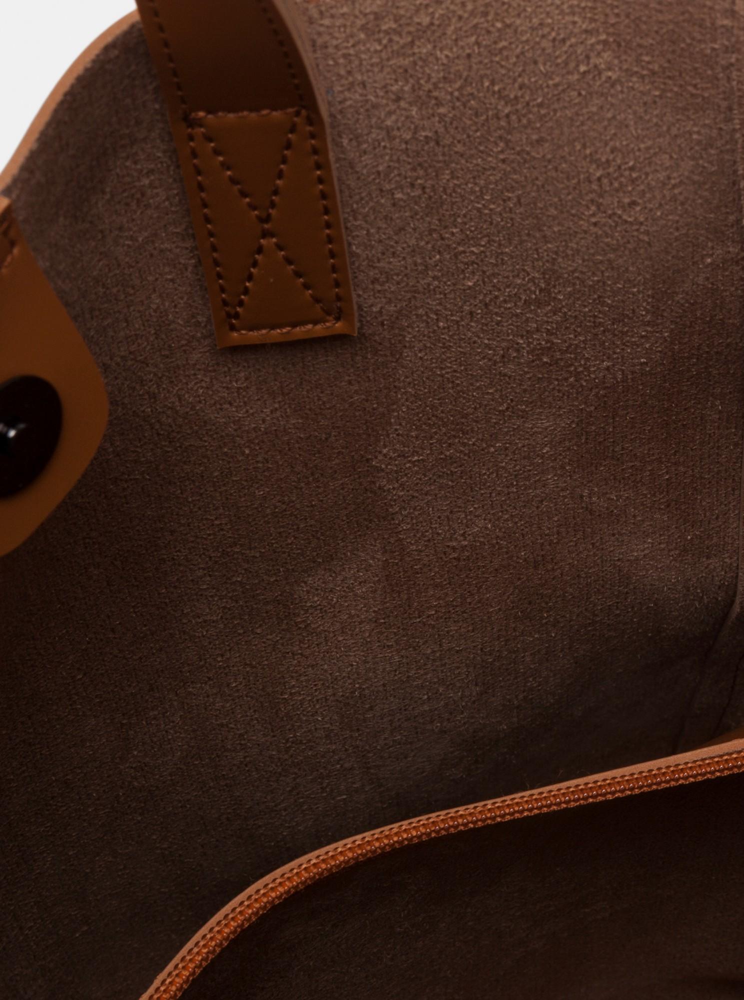 Claudia Canova maronii mare geanta