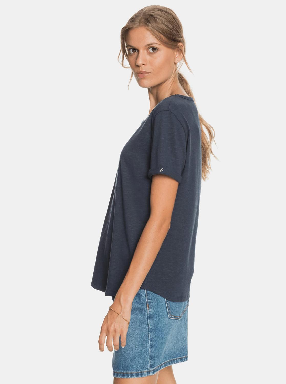 Roxy albastre tricou cu imprimeu