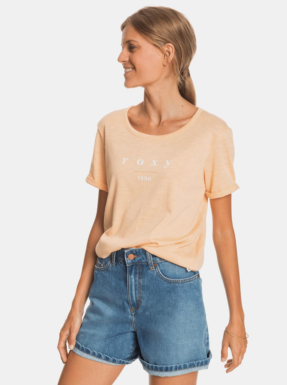 Roxy portocalii tricou cu imprimeu