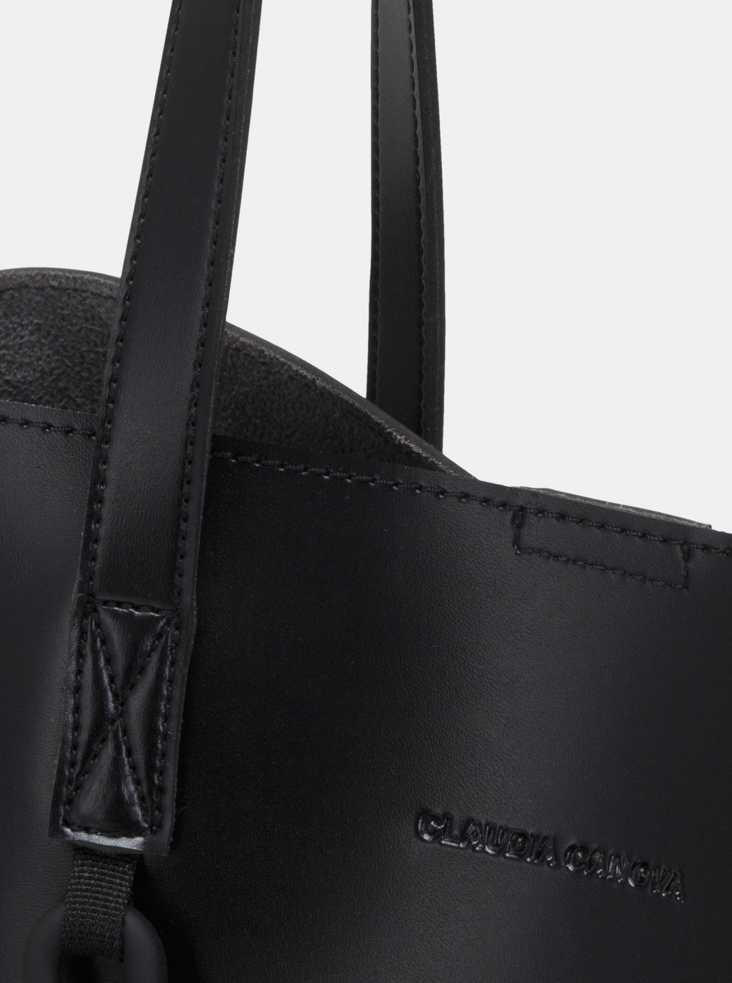 Claudia Canova negre mare geanta