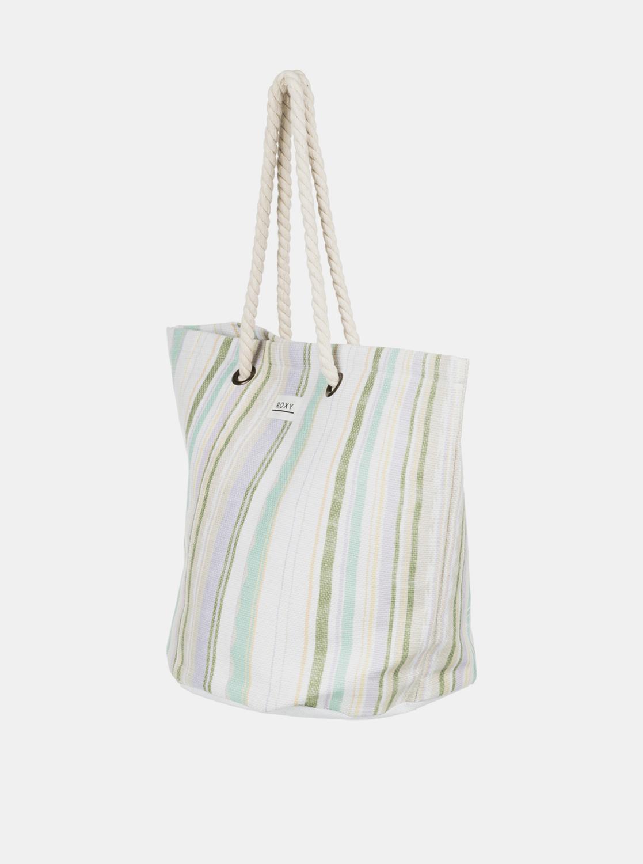 Roxy albe geantă de plajă