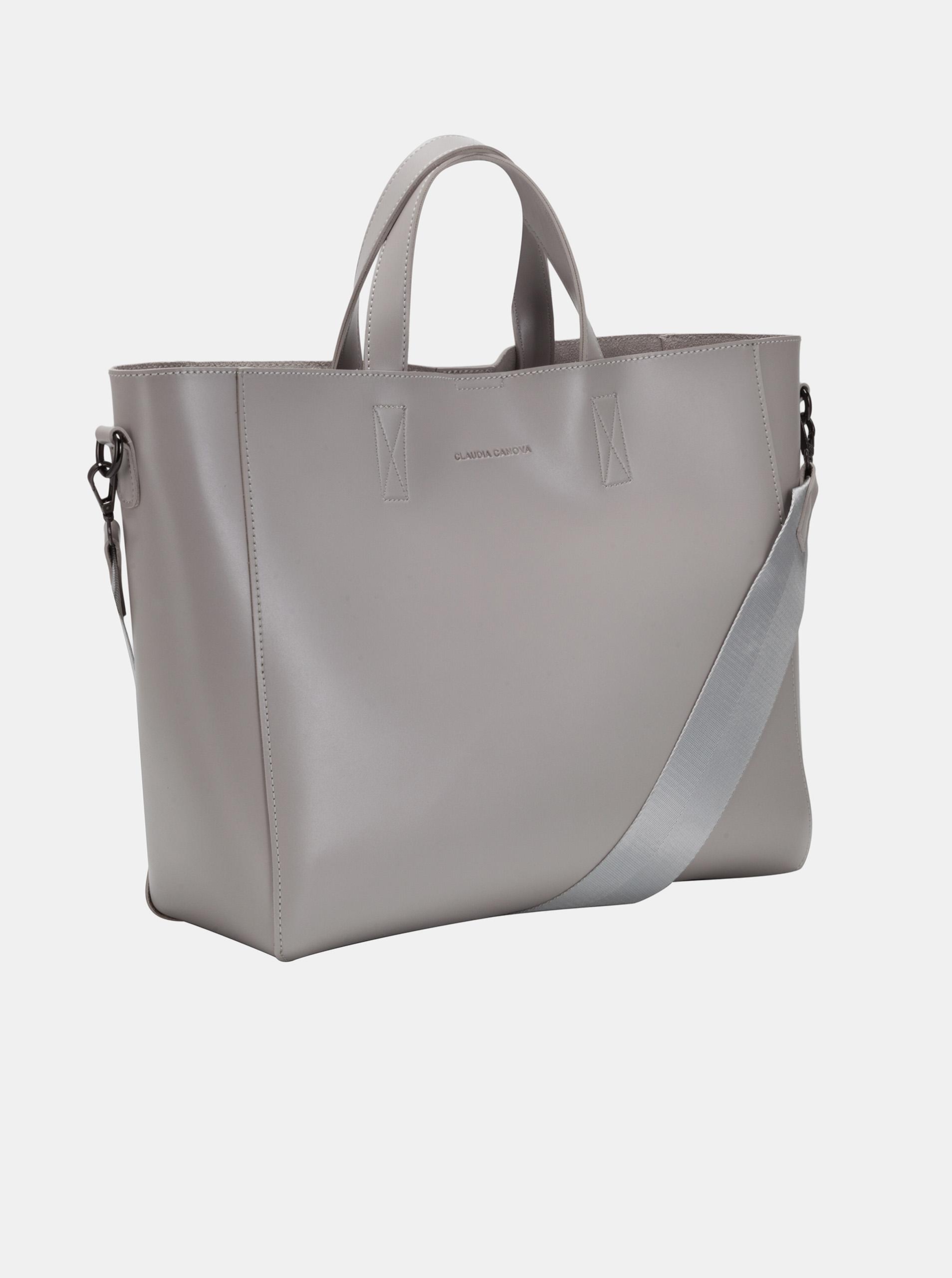 Claudia Canova gri geanta