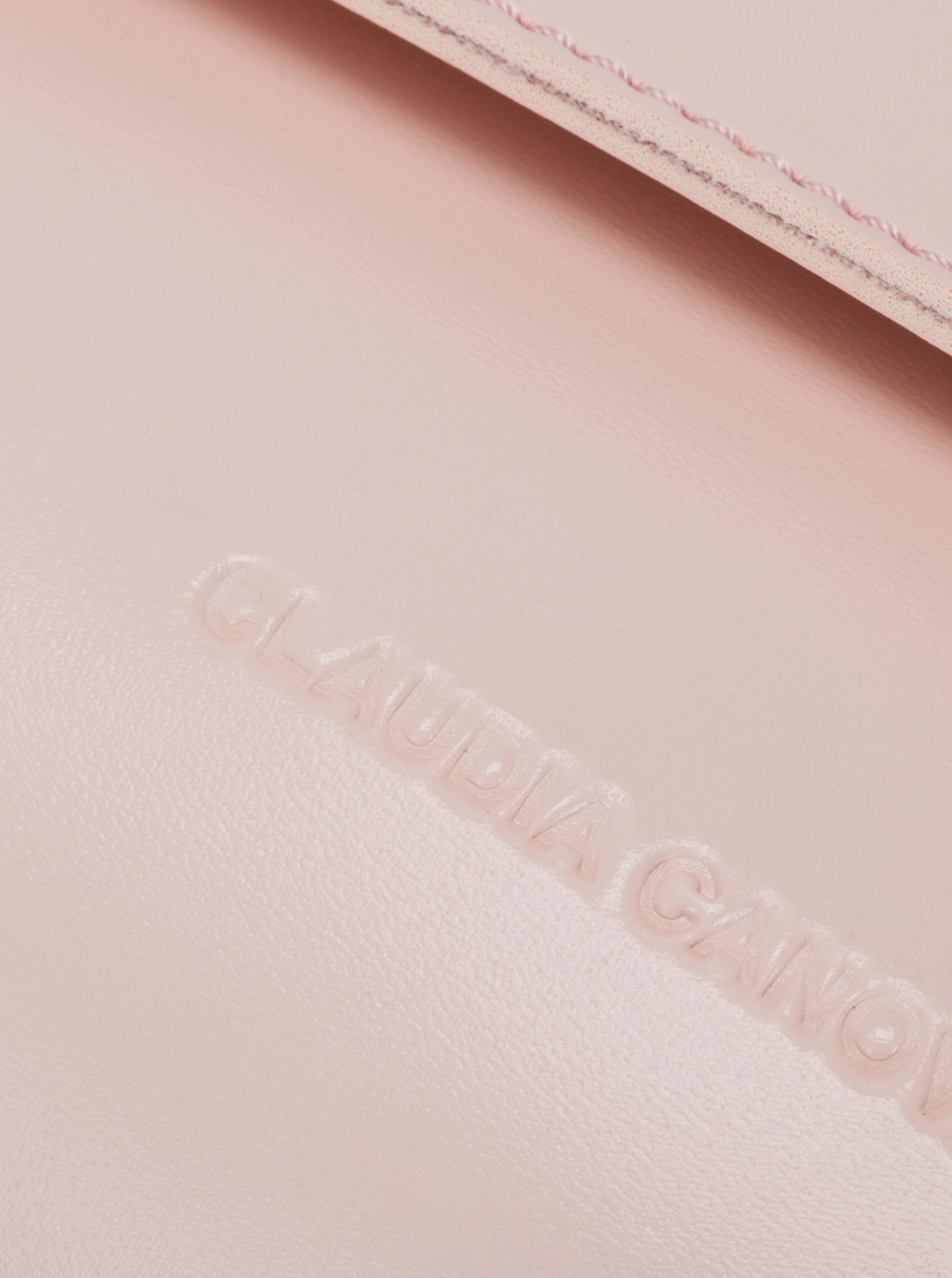 Claudia Canova roz crossbody geanta