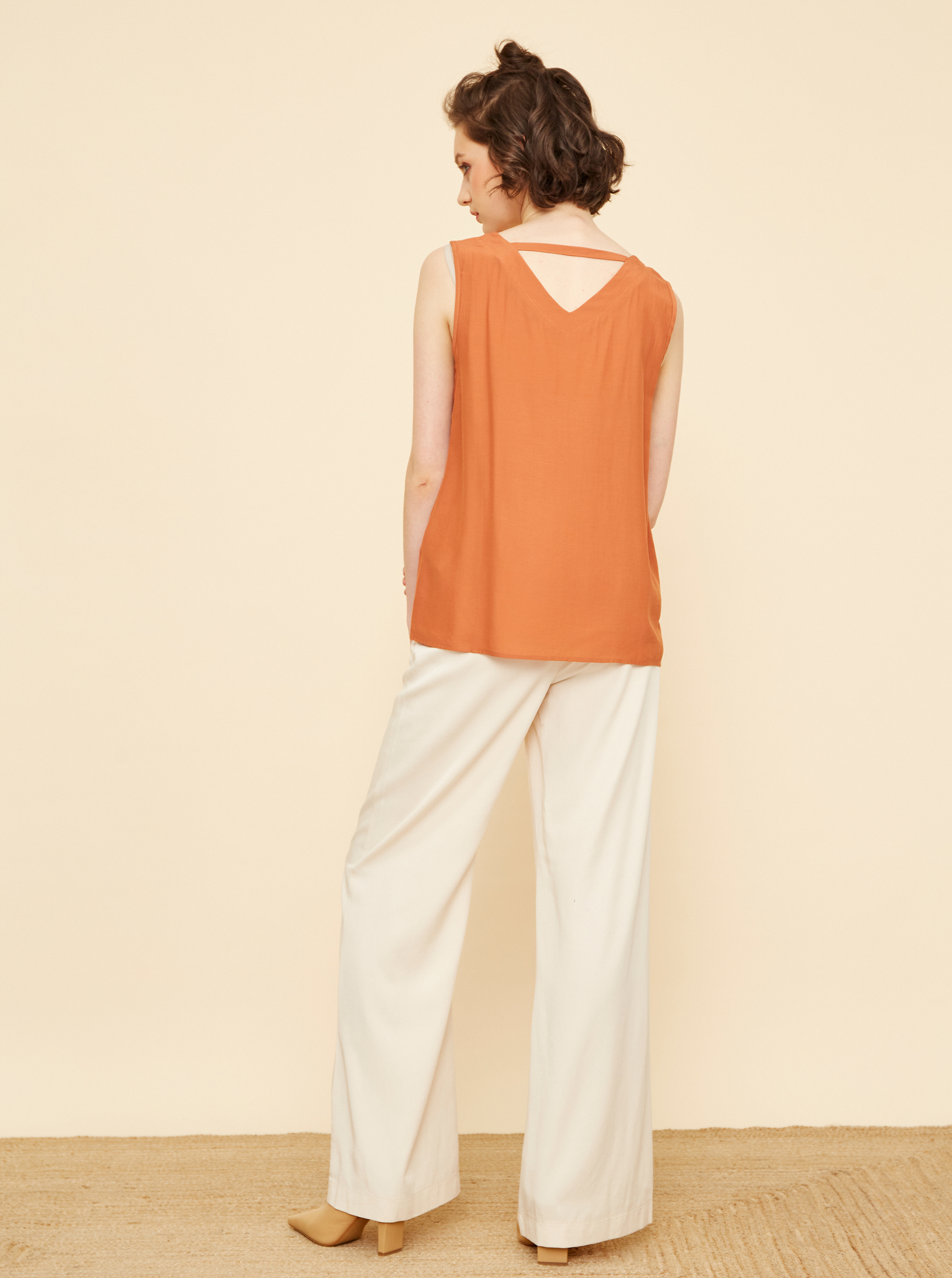 ZOOT maronii bluză Beyla