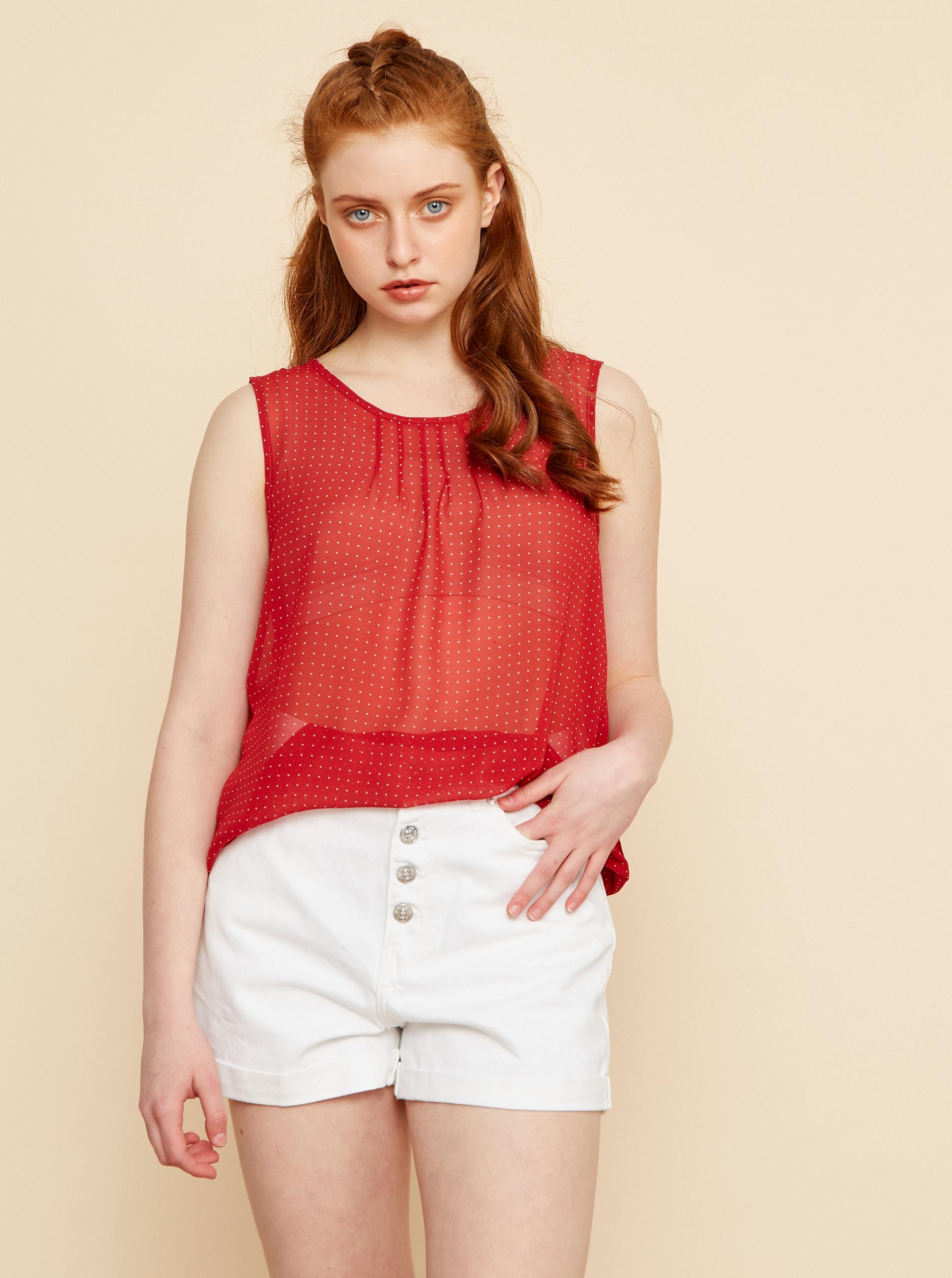 ZOOT roșii bluză Tina