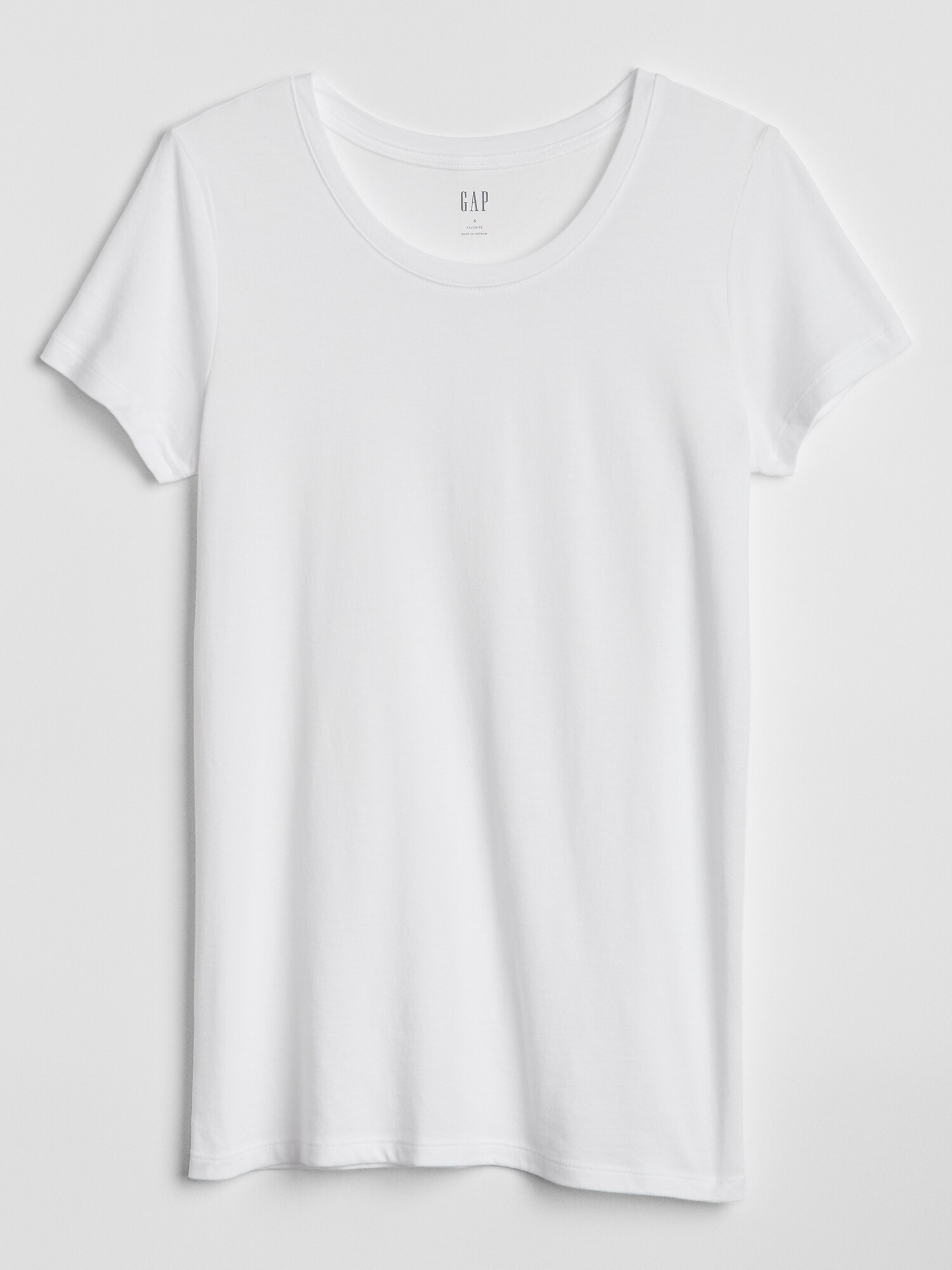 GAP albe tricou
