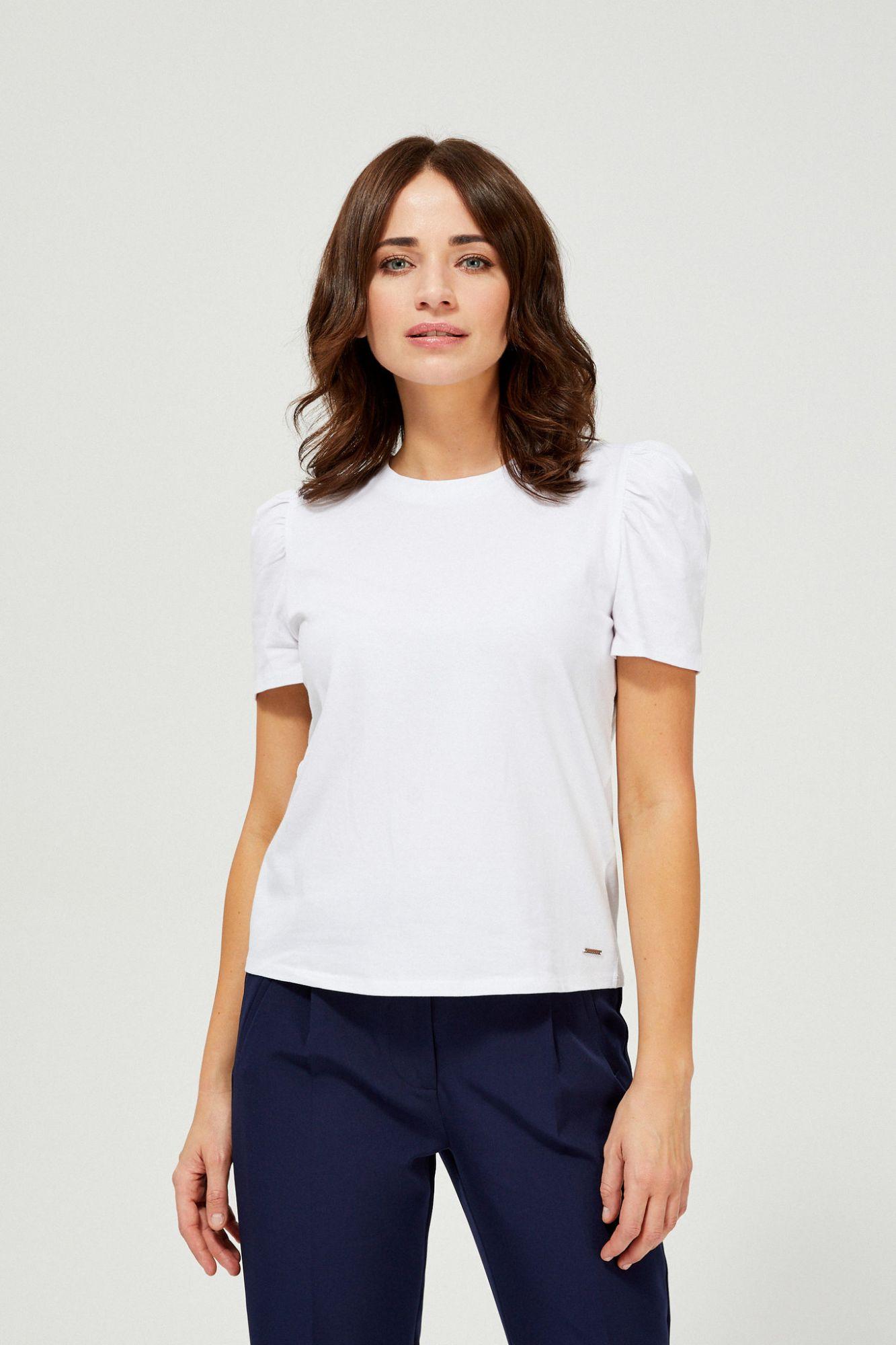 Moodo albe tricou