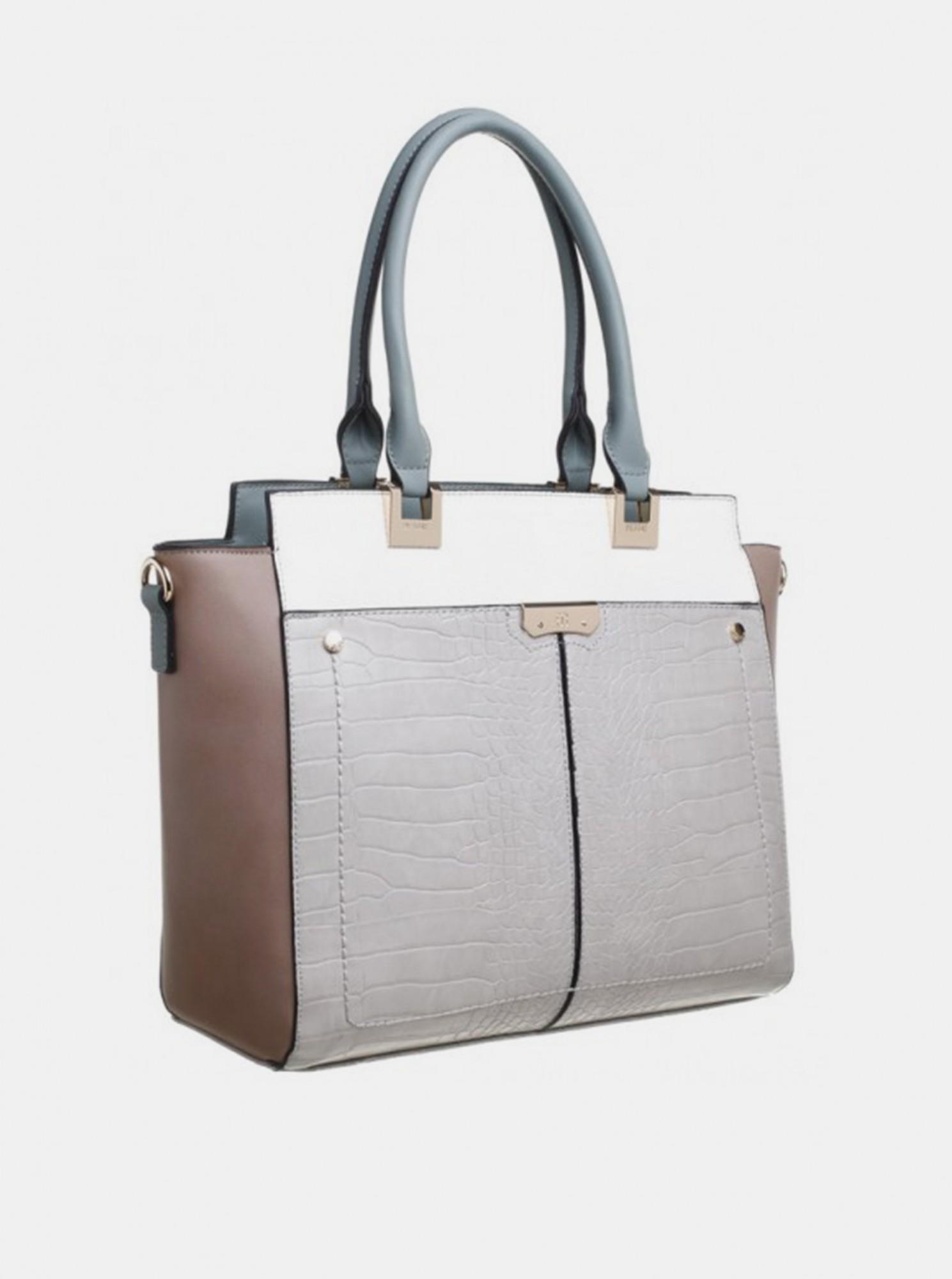 Bessie London gri geanta