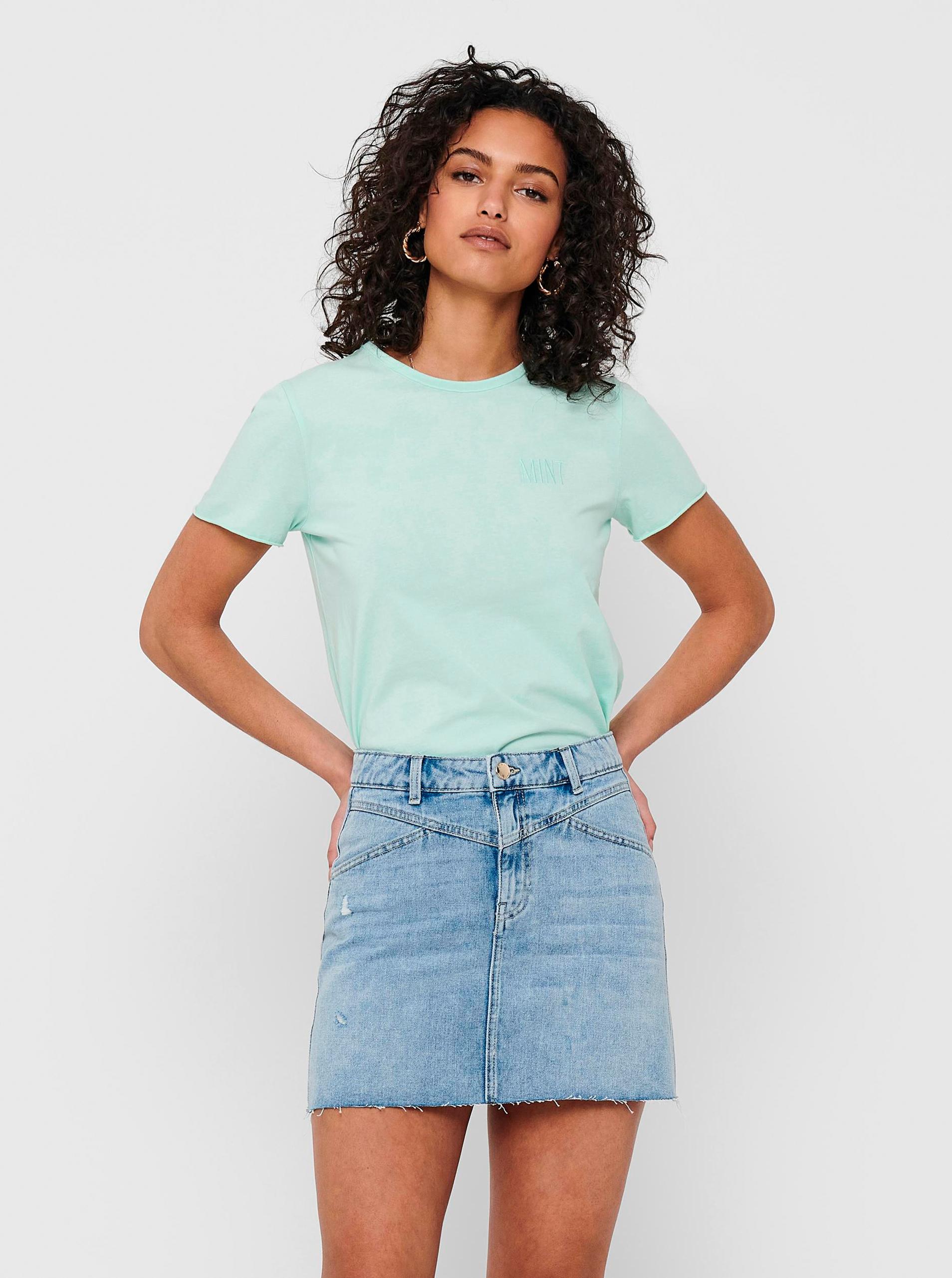Only verzi basic de dama tricou Fruity
