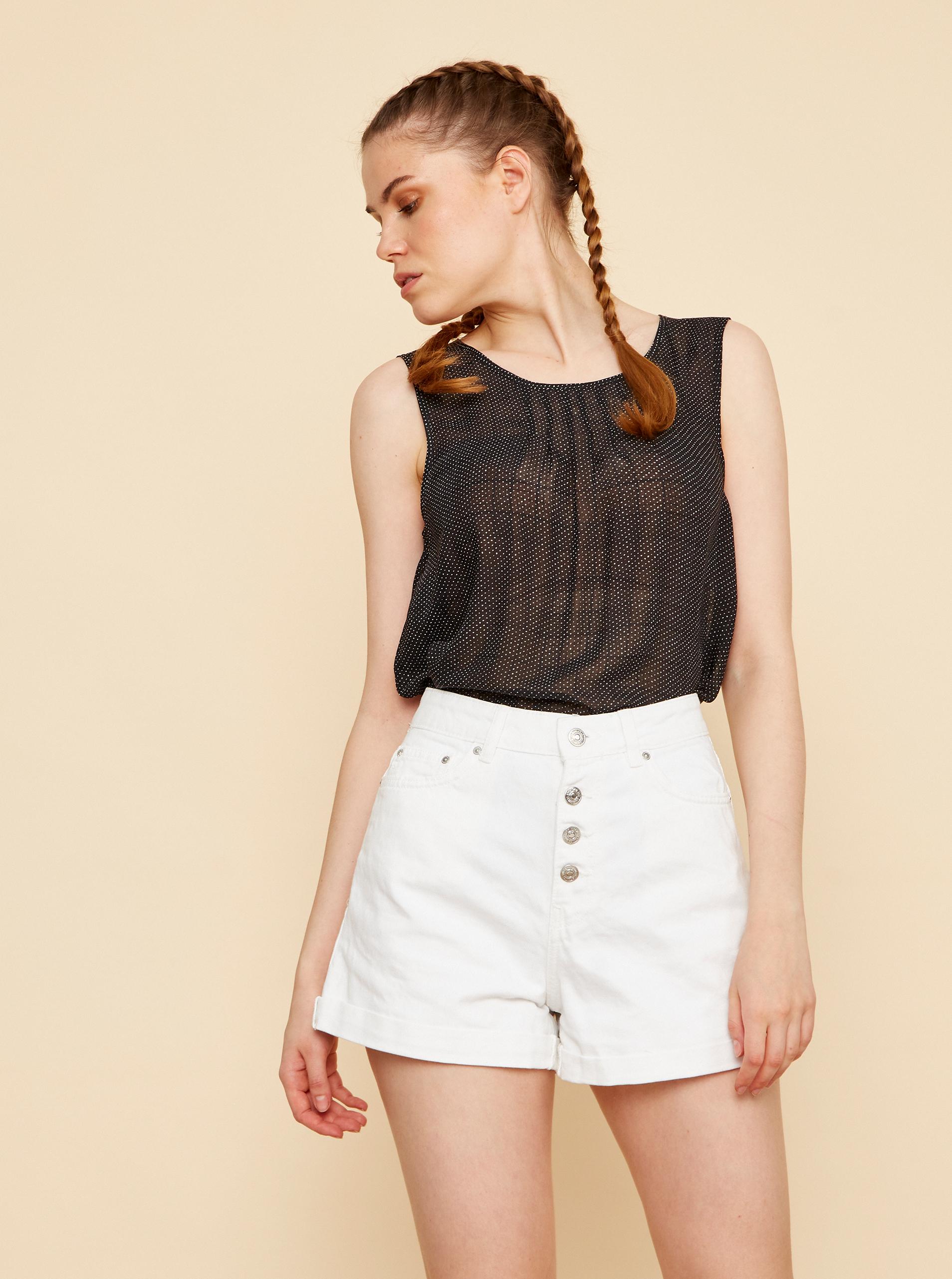 ZOOT negre bluză Tina
