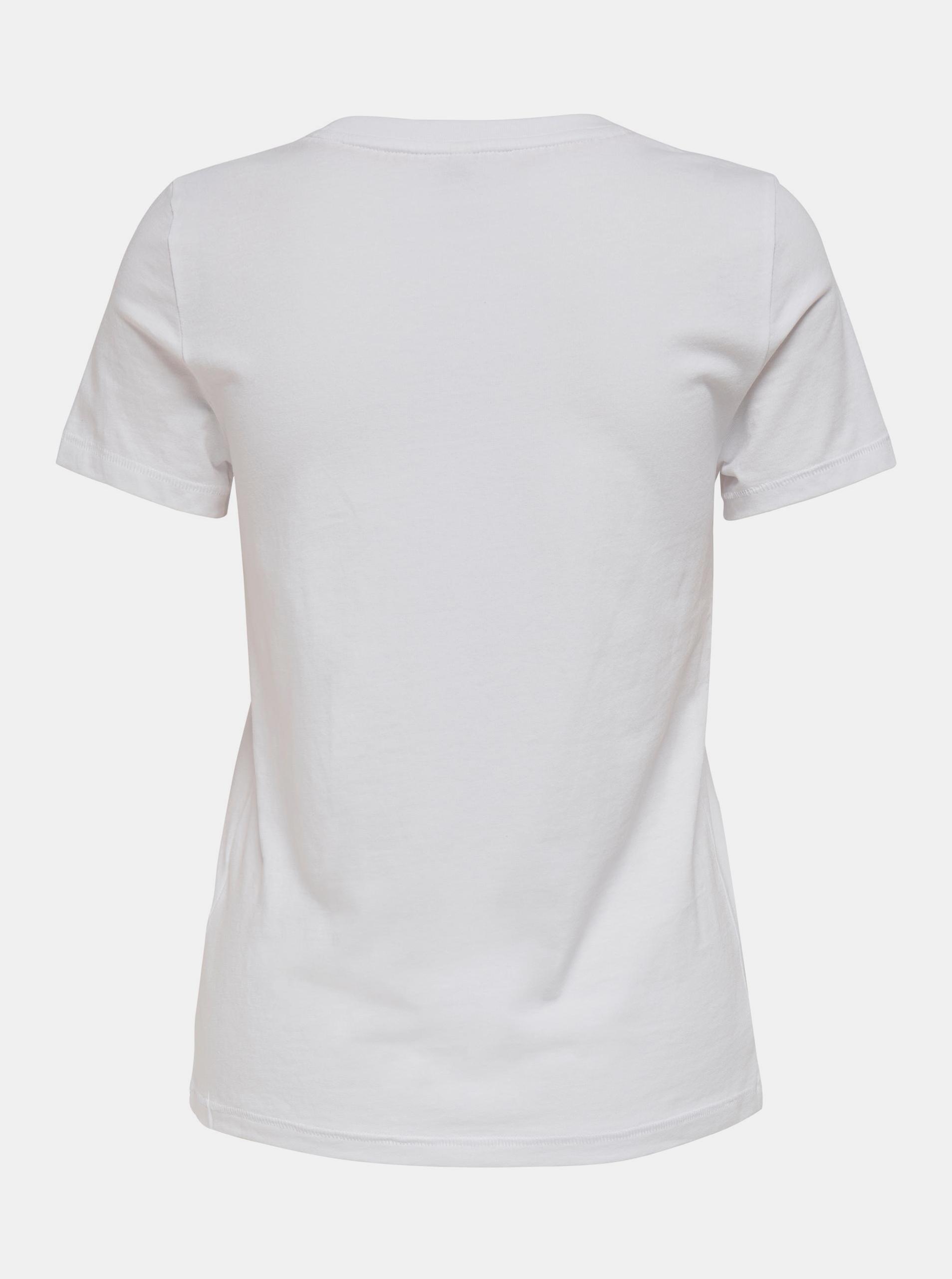 Only albe de dama tricou Lana cu imprimeu