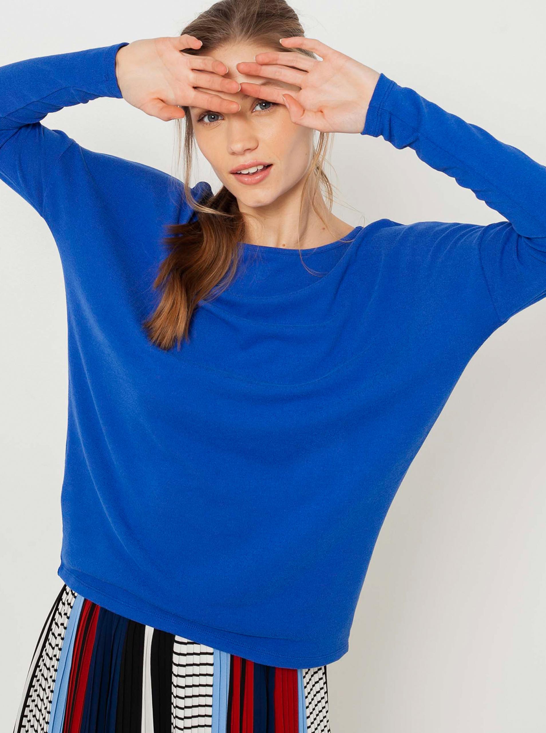 CAMAIEU albastre de dama tricou