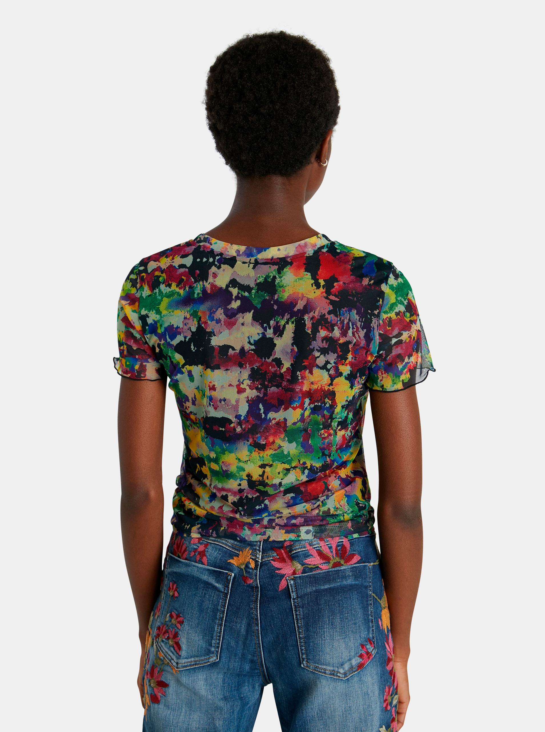 Desigual colorate tricou Eloisse