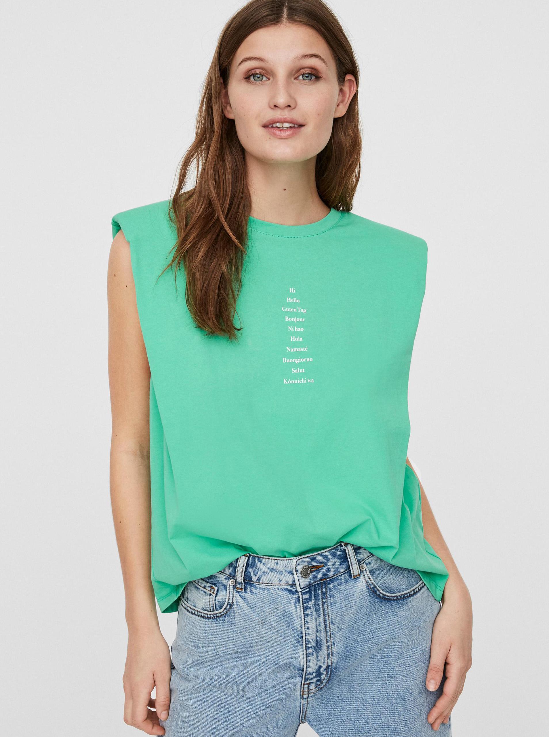 Vero Moda verzi tricou Hollie