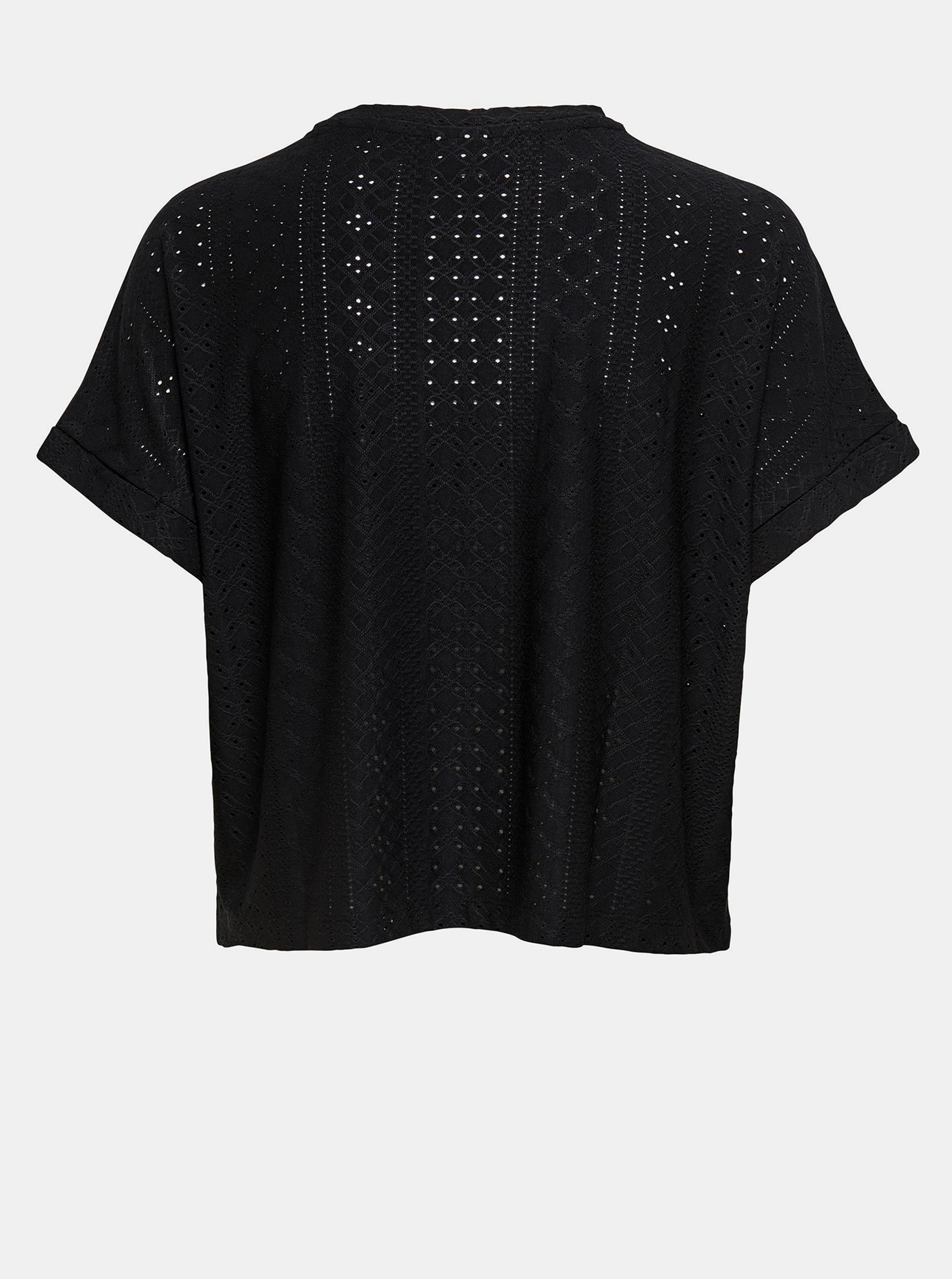 Jacqueline de Yong negre tricou Fatinka