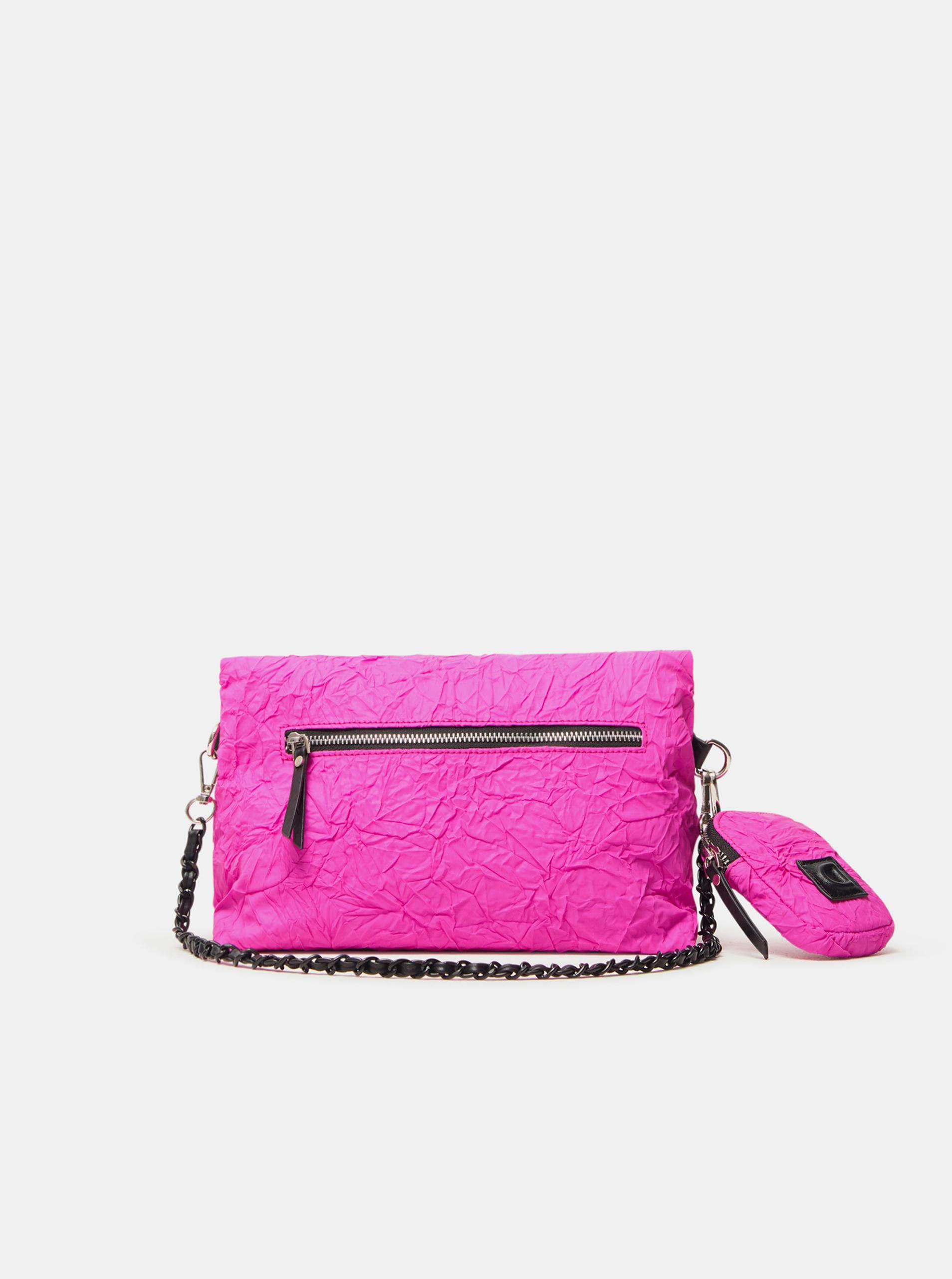 Desigual roz crossbody geanta Crush Venecia
