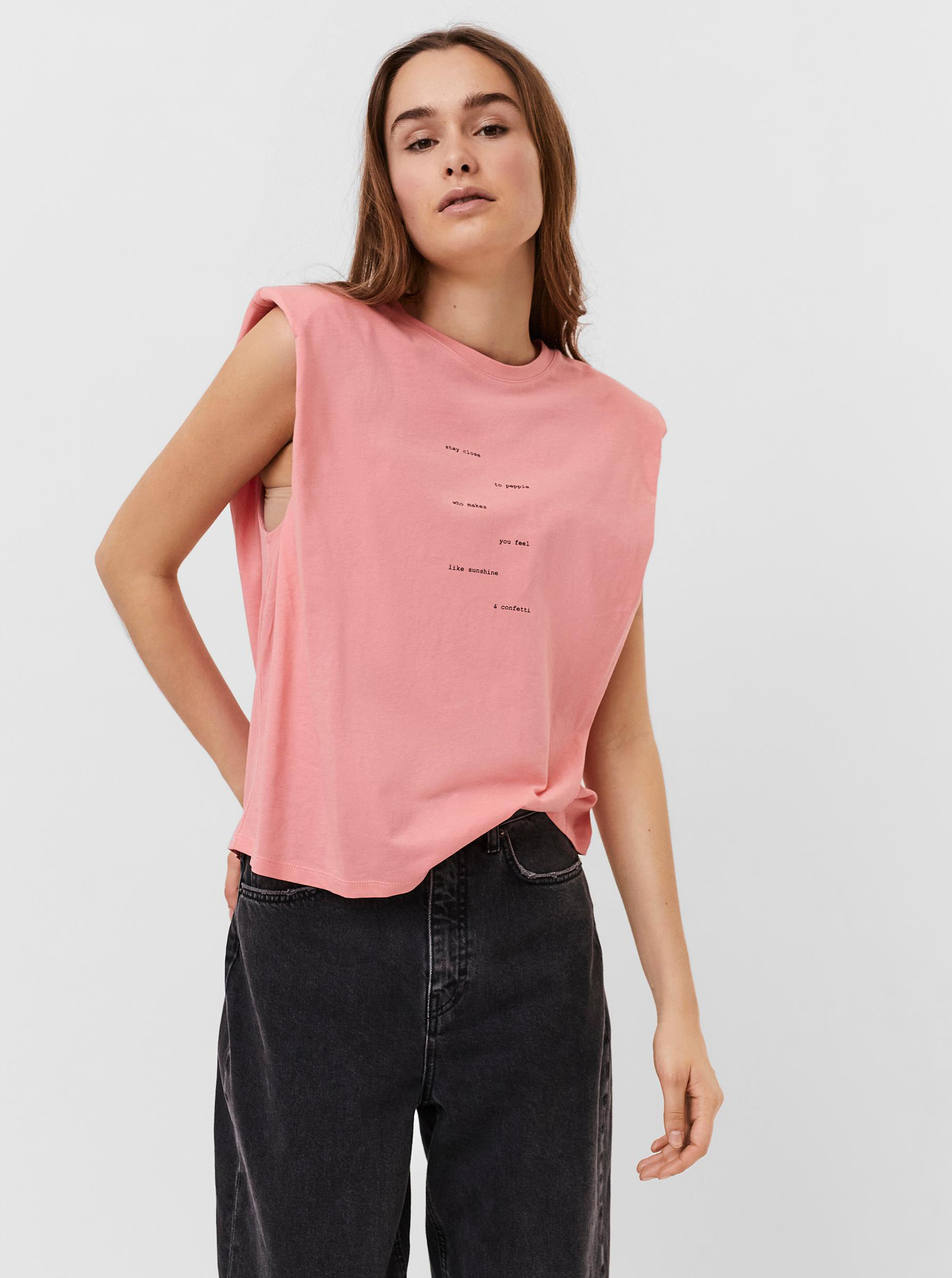 Vero Moda roz tricou Hollie
