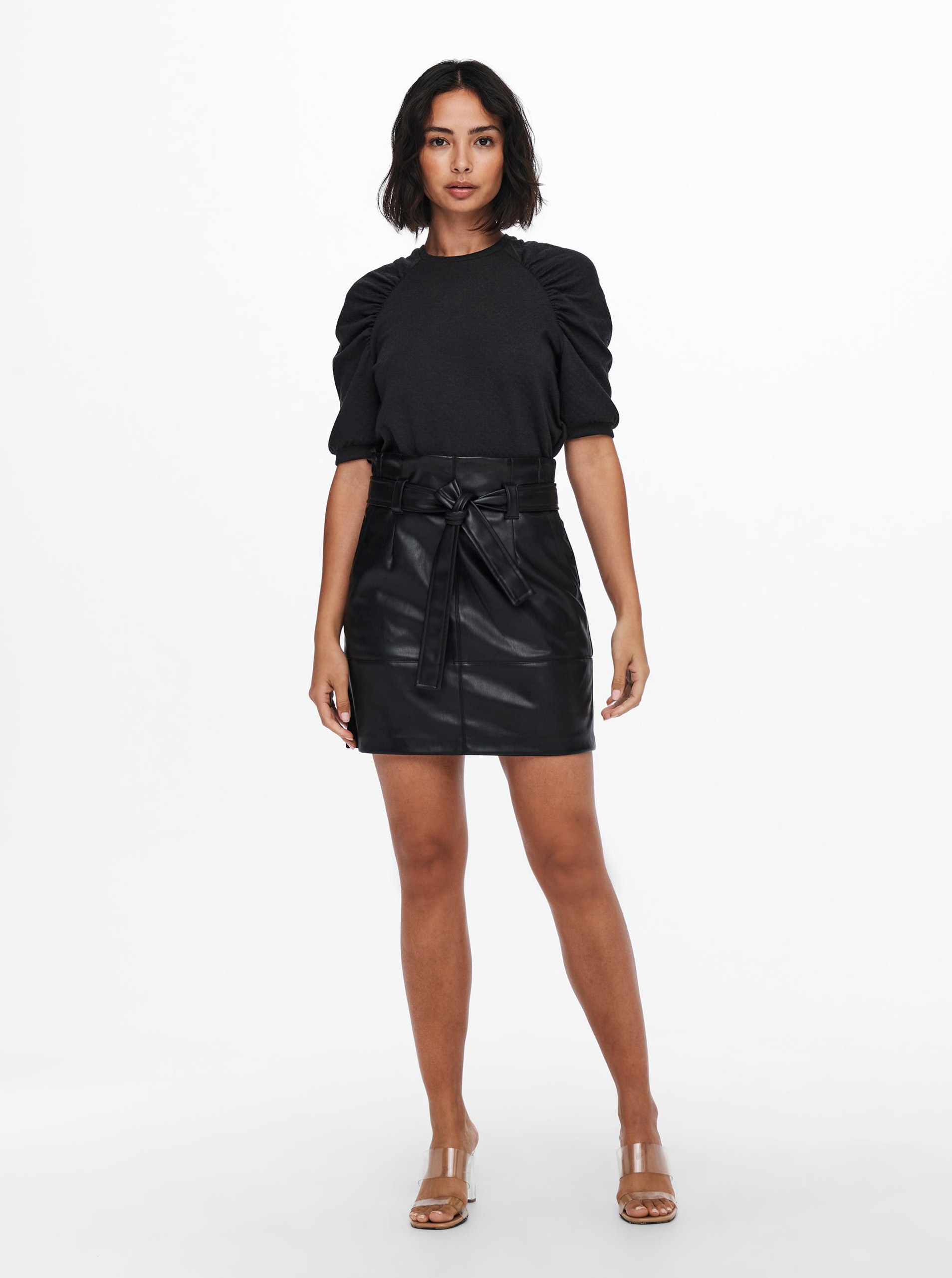 Jacqueline de Yong gri bluză Gloria