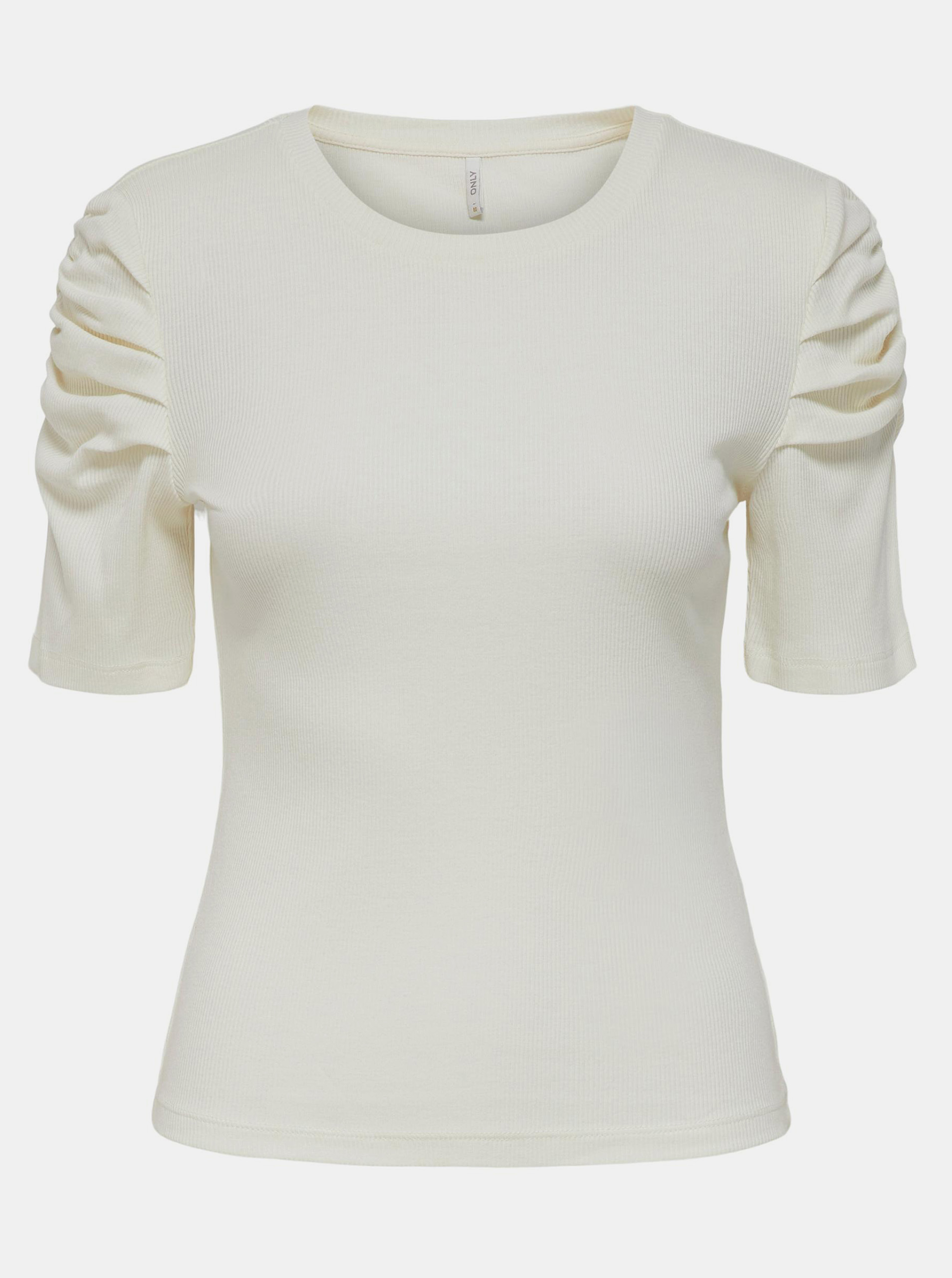 Only smantanii/crem tricou Onelly
