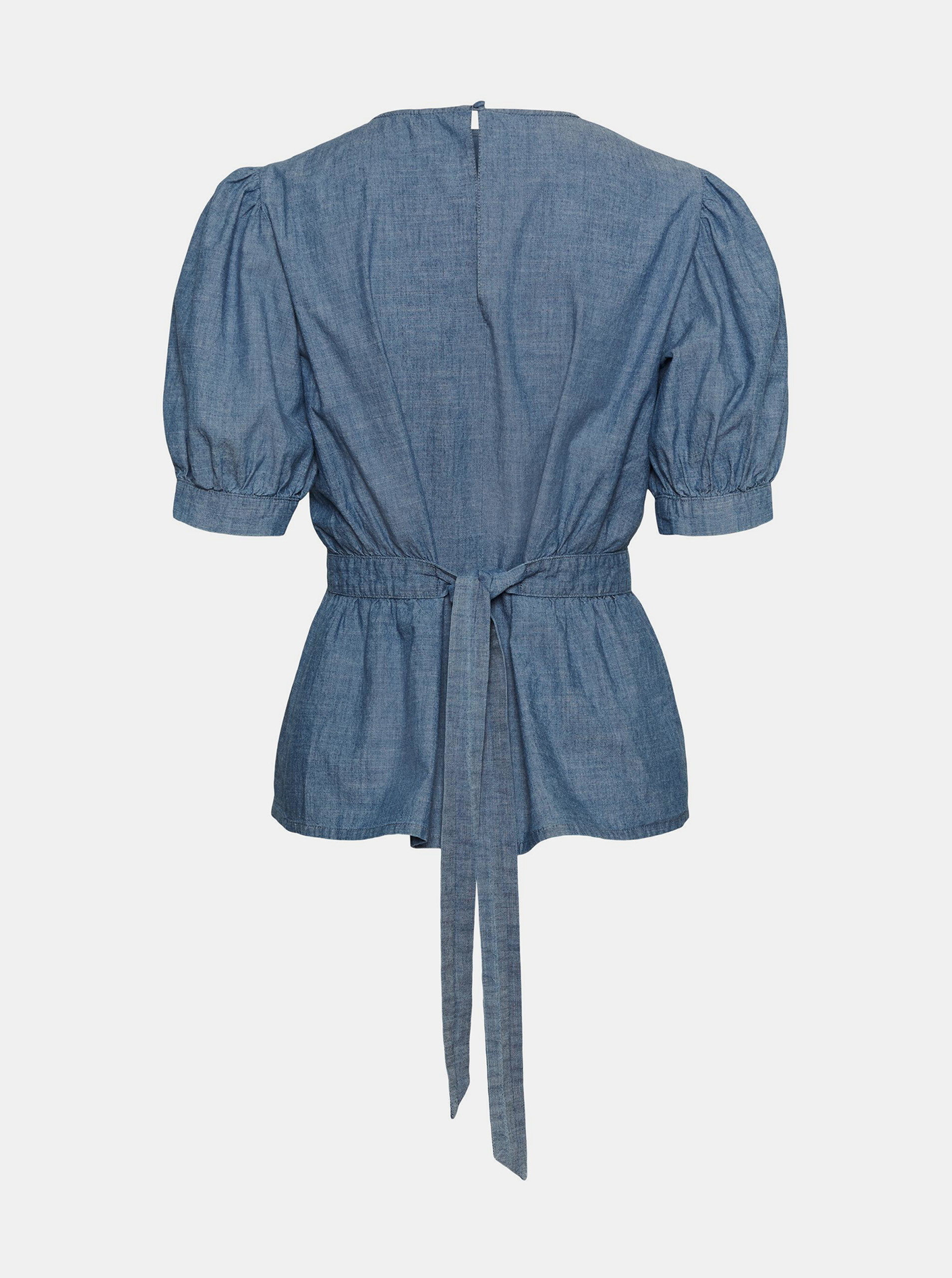 Vero Moda albastre bluză Akela