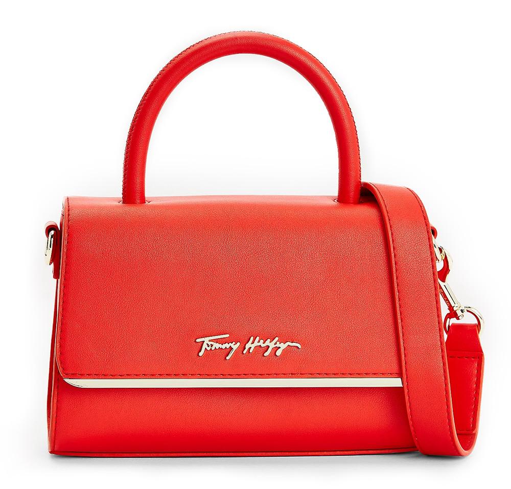 Tommy Hilfiger roșii crossbody mica geanta
