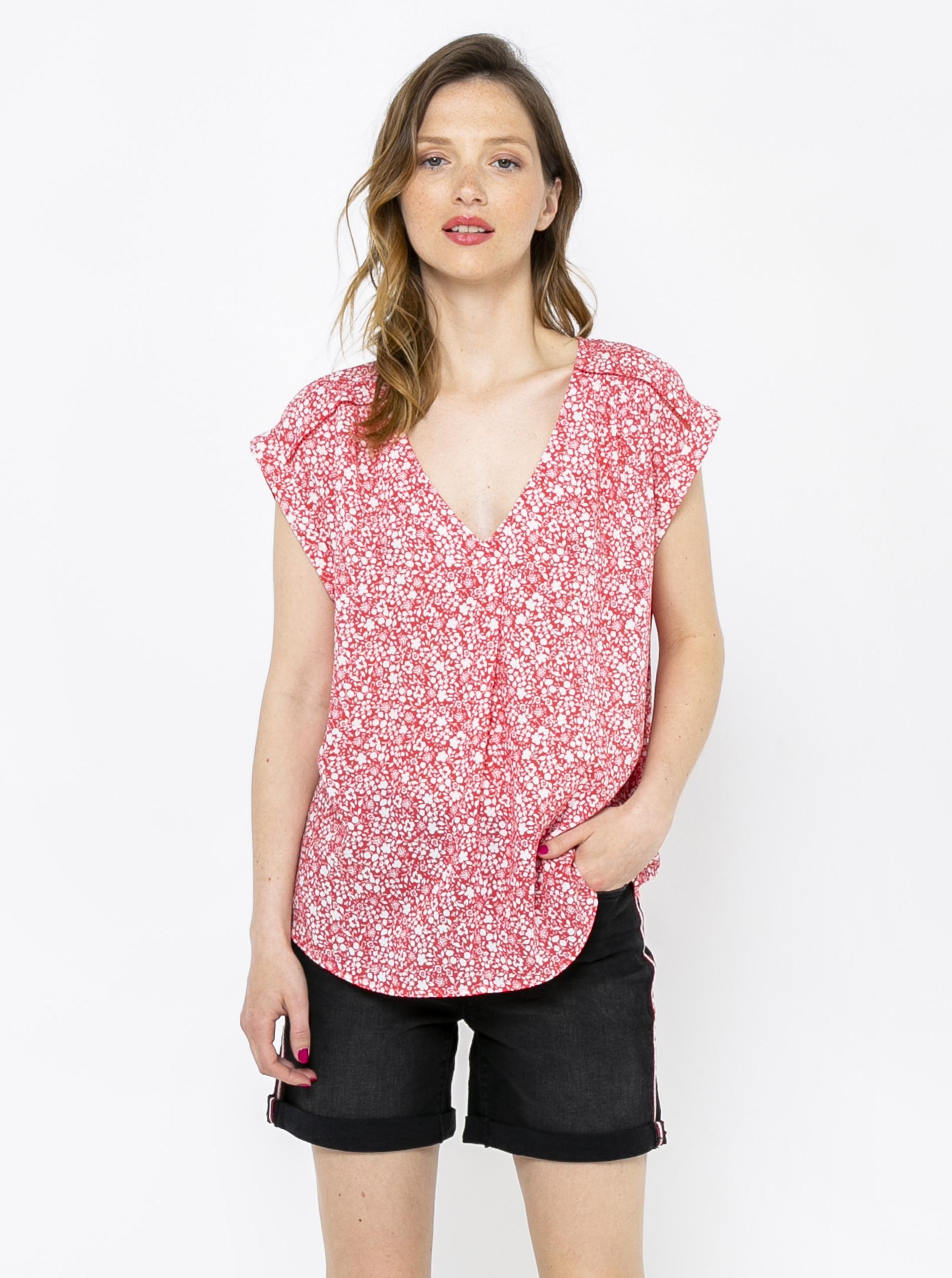 CAMAIEU bluză cu tipar