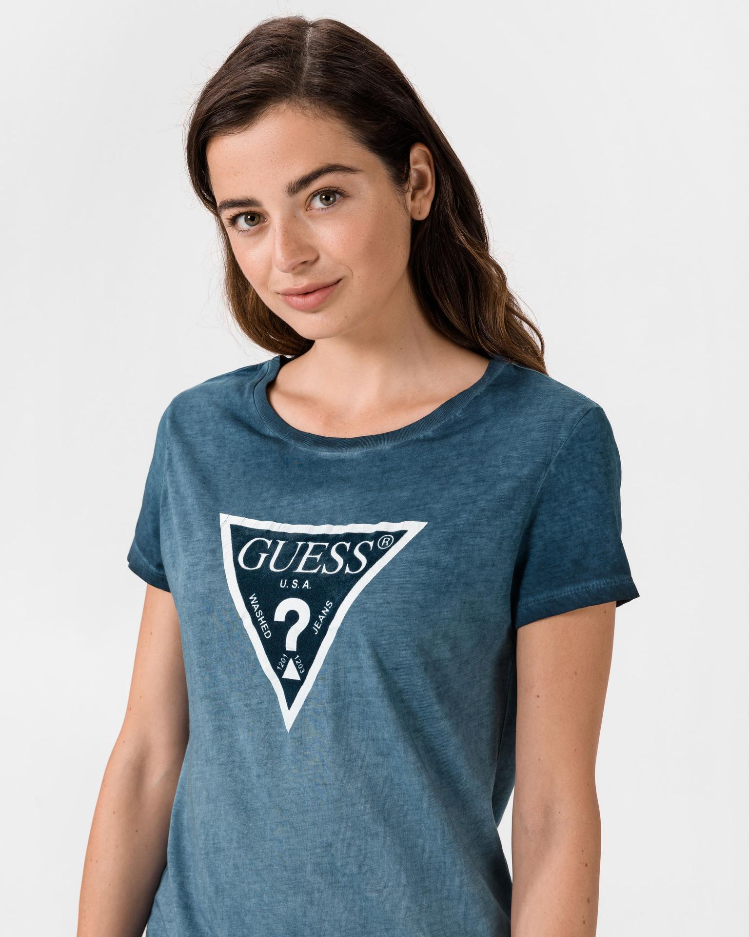 Tricouri pentru femei Guess - albastru