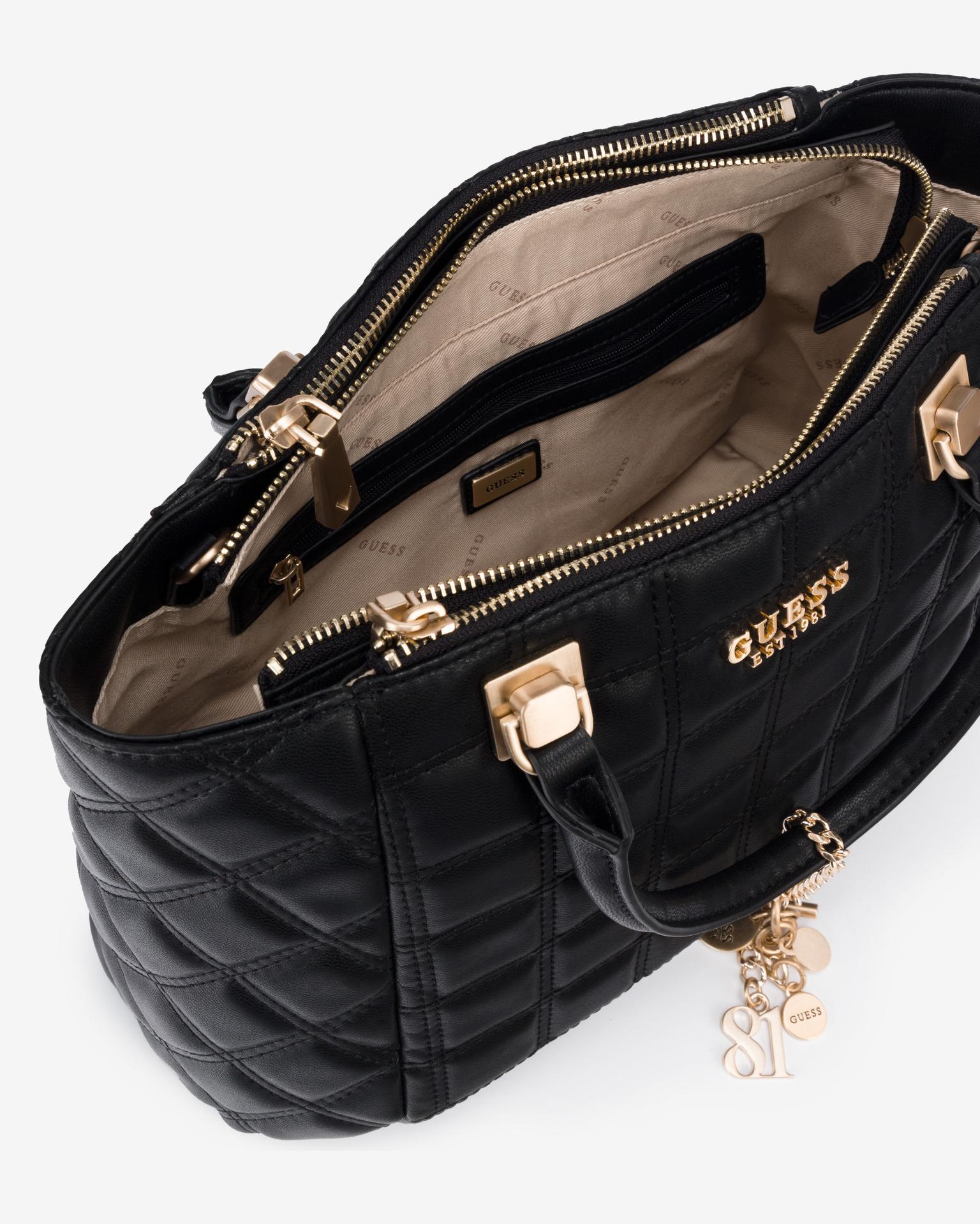Guess negre geanta Kamina Status