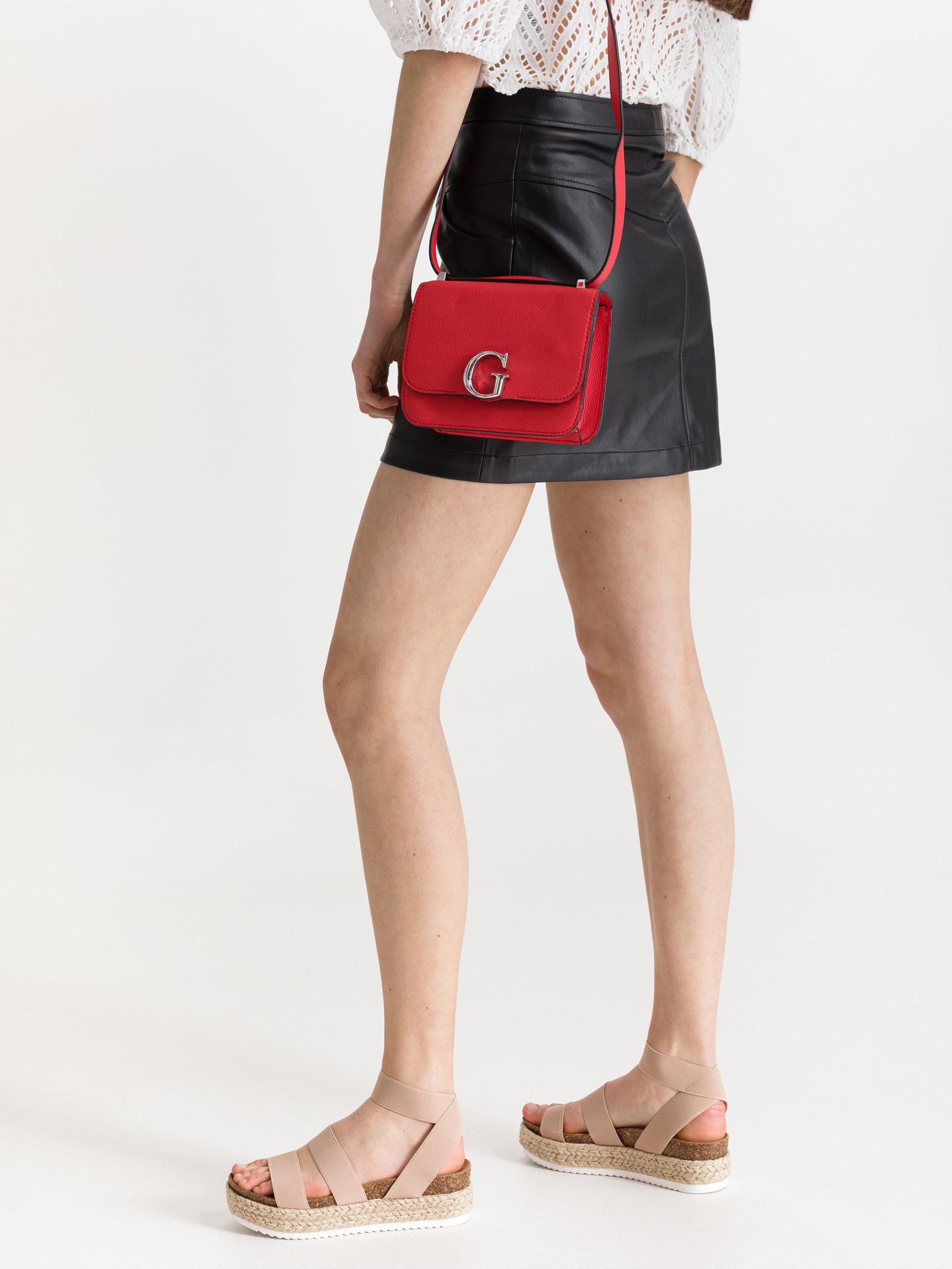 Guess roșii crossbody geanta Corily