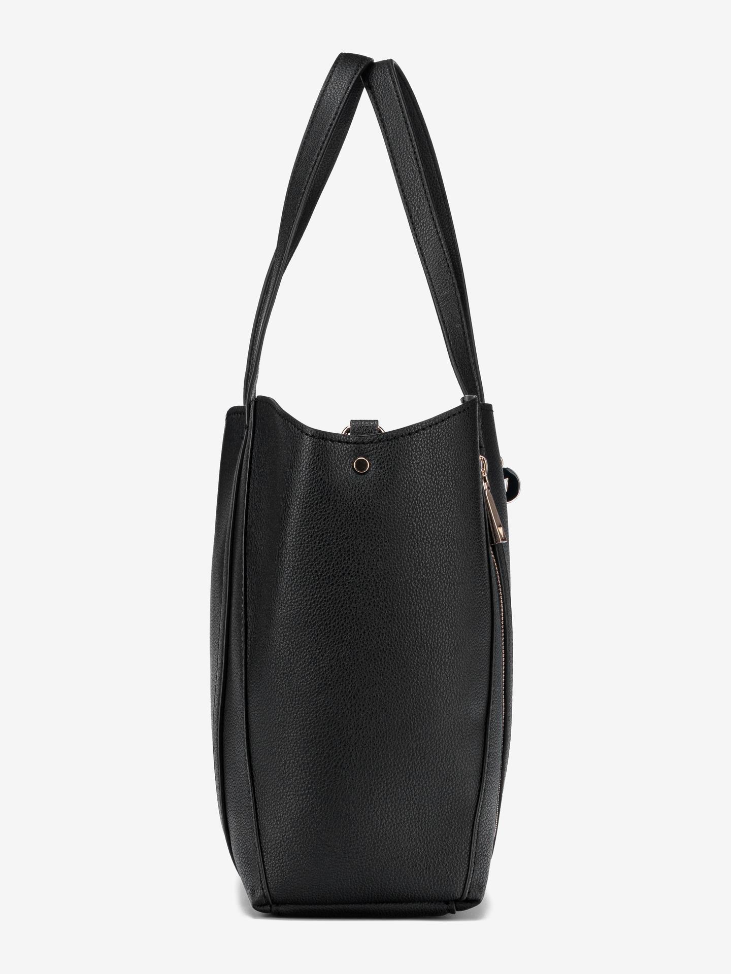Guess negre geanta Naya Front Zip