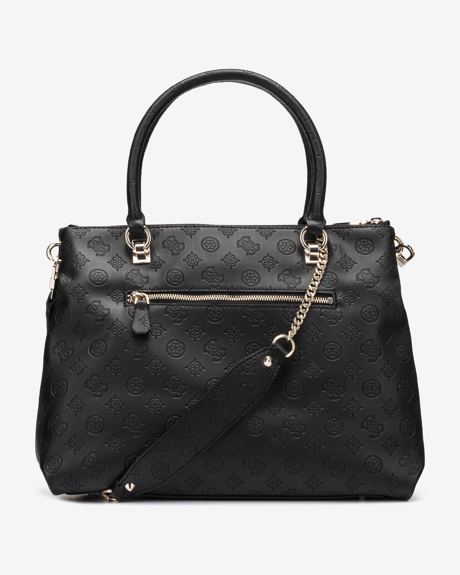 Guess negre geanta Ninnette Satus Carryall