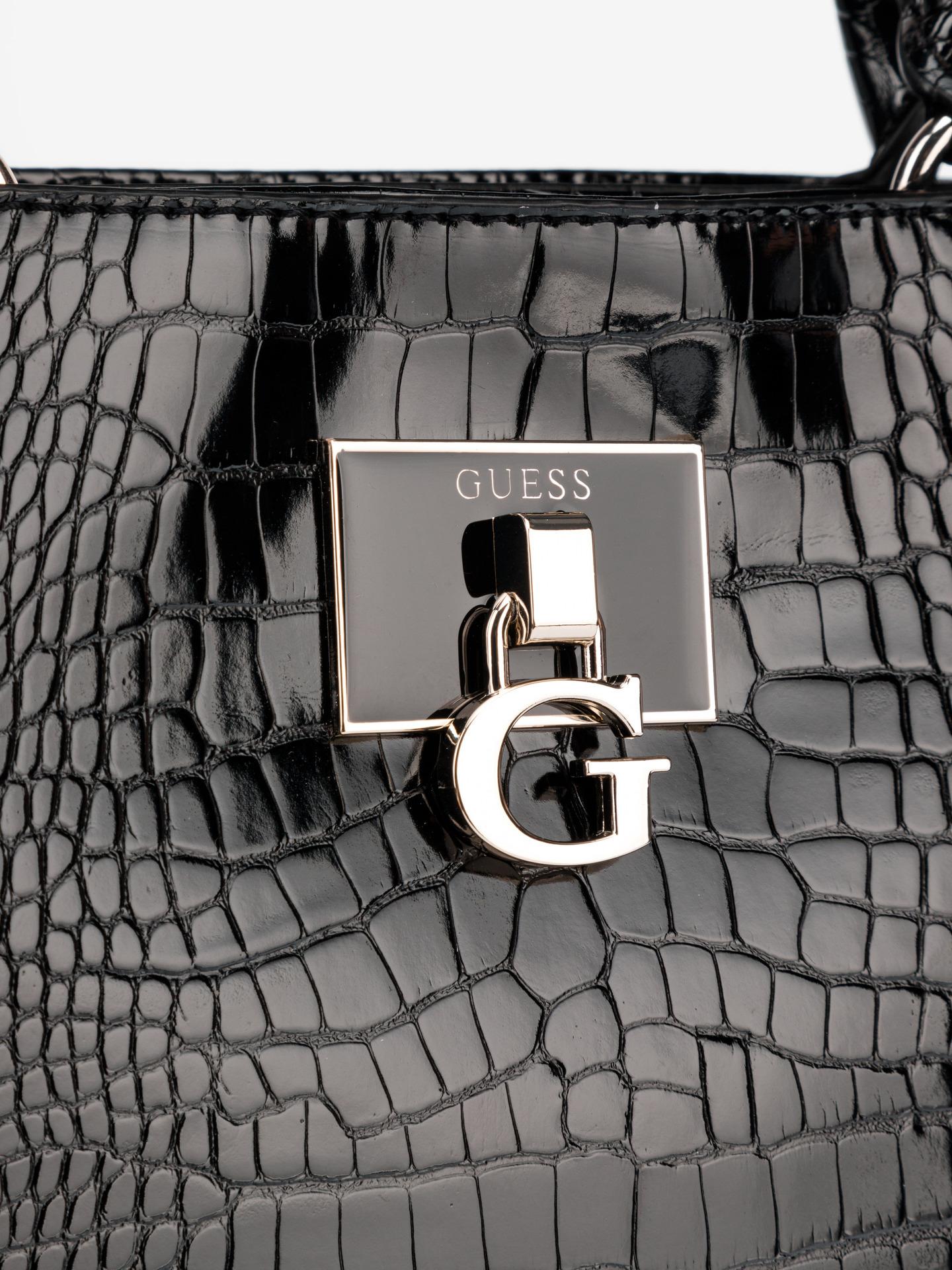 Guess negre geanta Carabel