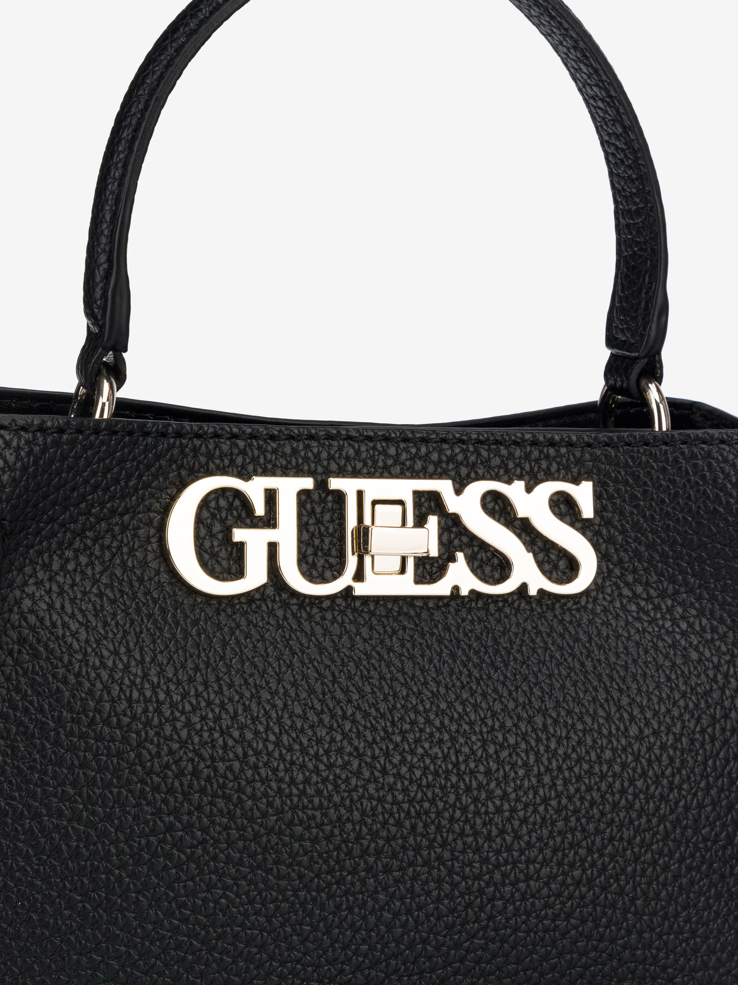 Guess negre geanta Uptown Chic Small