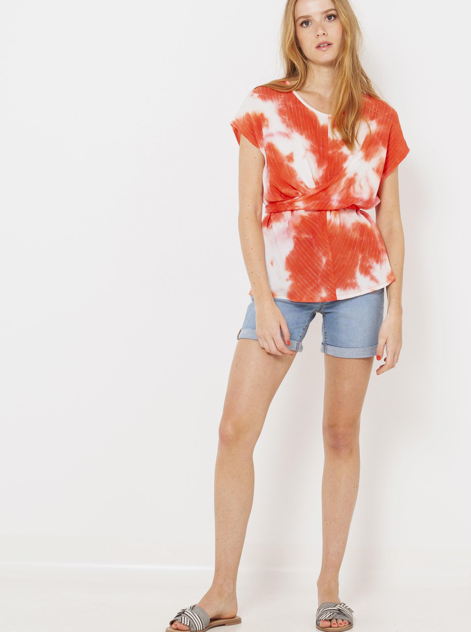 CAMAIEU roșii bluză