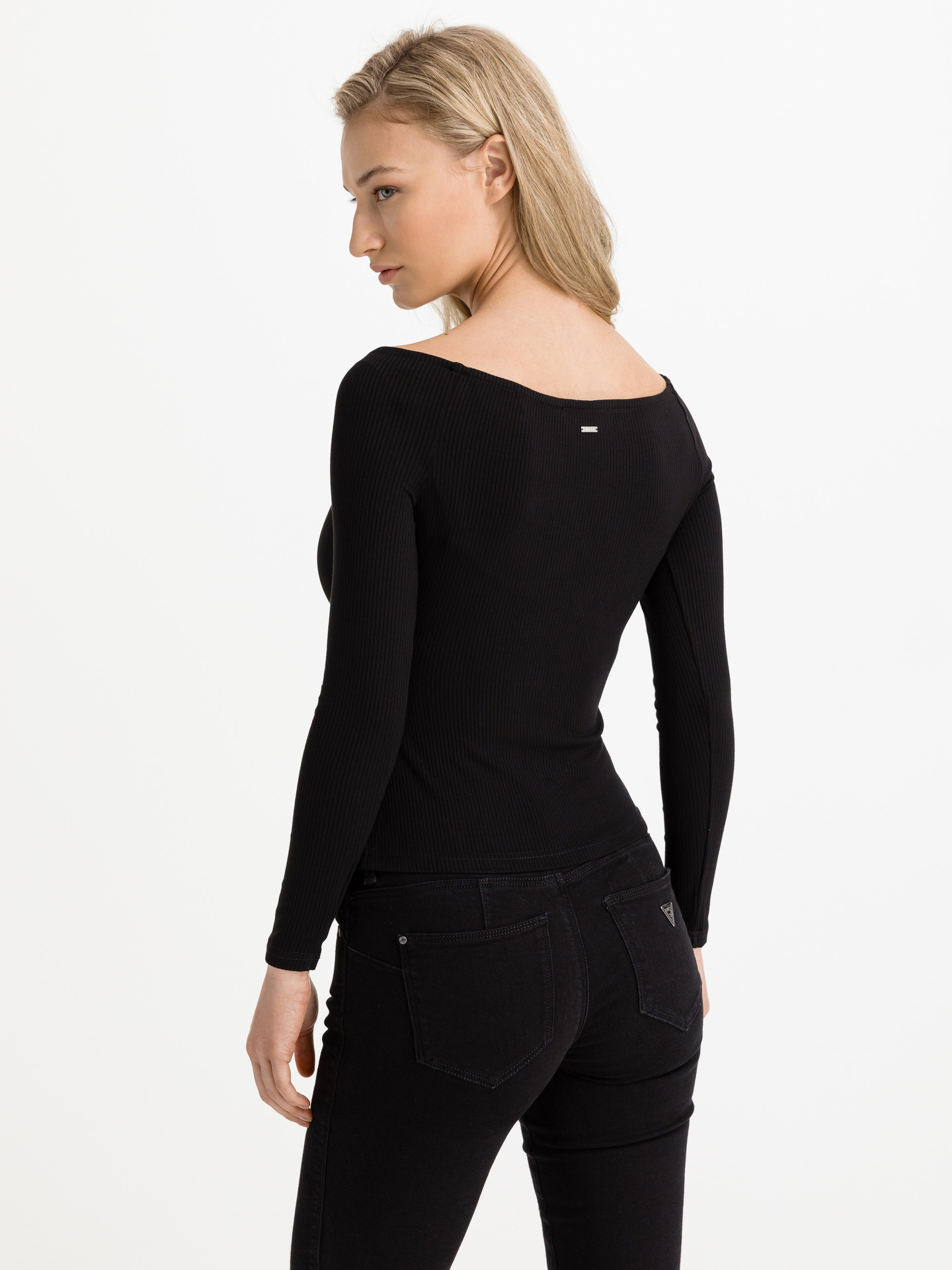 Guess negre tricou Sonay