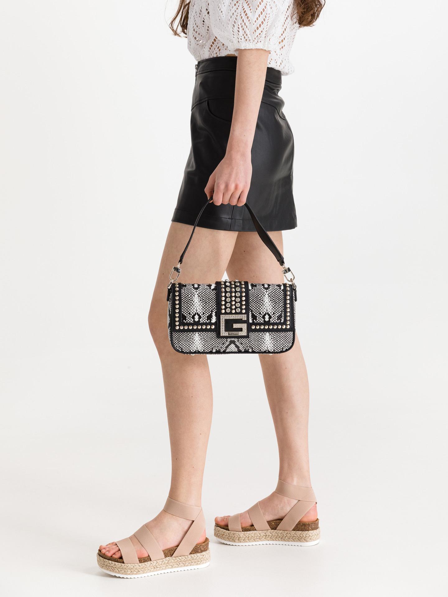 Guess negre geanta Bling