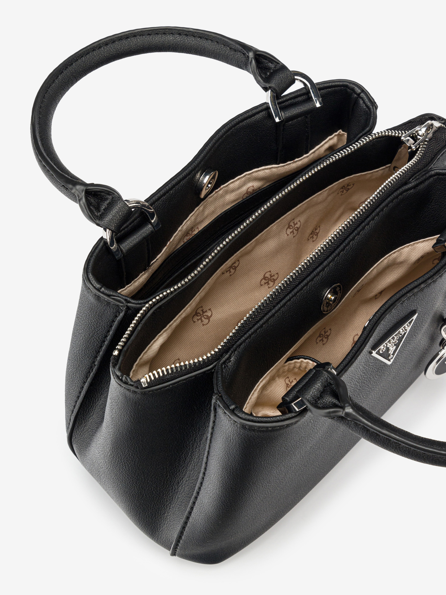 Guess negre geanta Ambrose Small