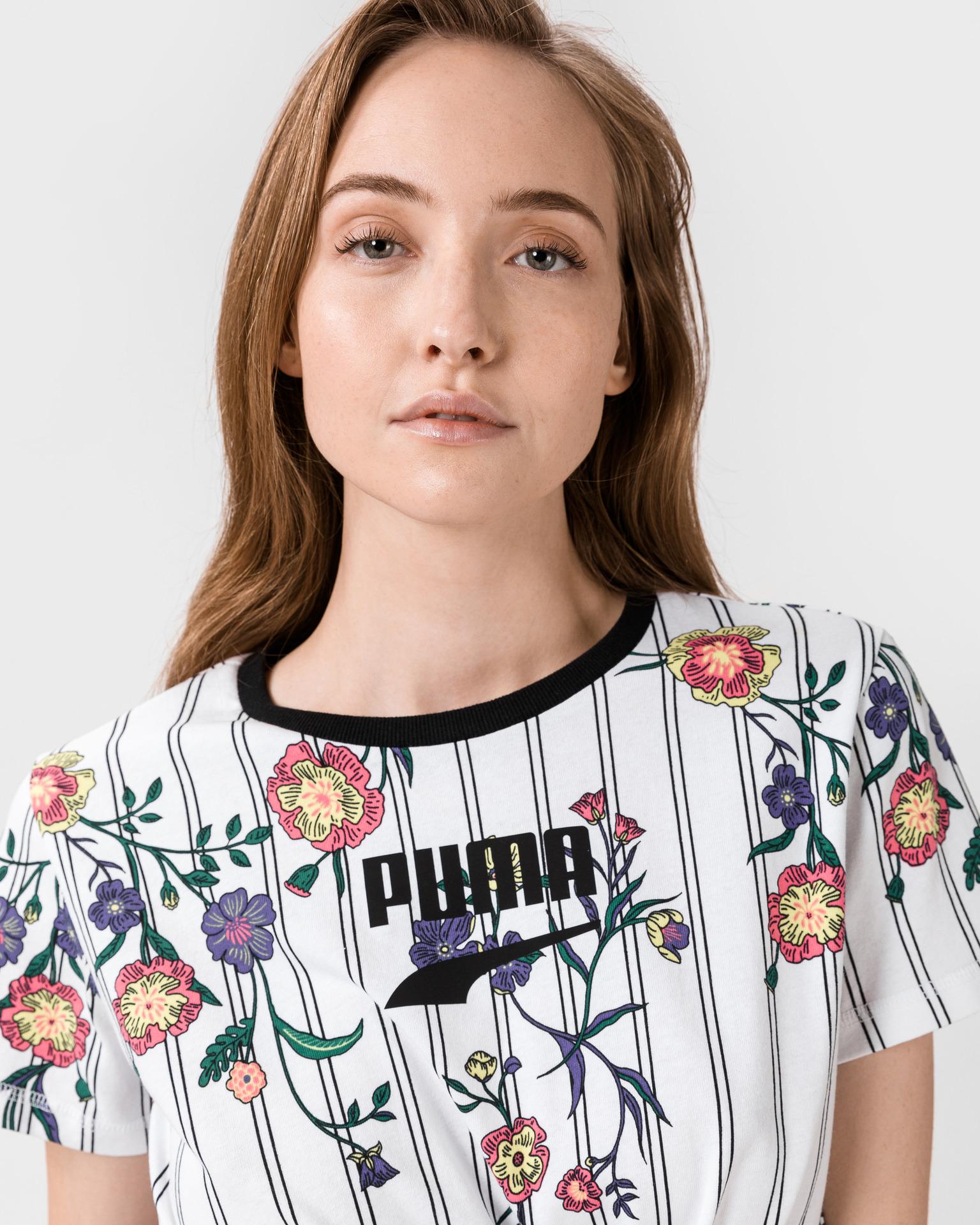 Tricouri pentru femei Puma - auriu