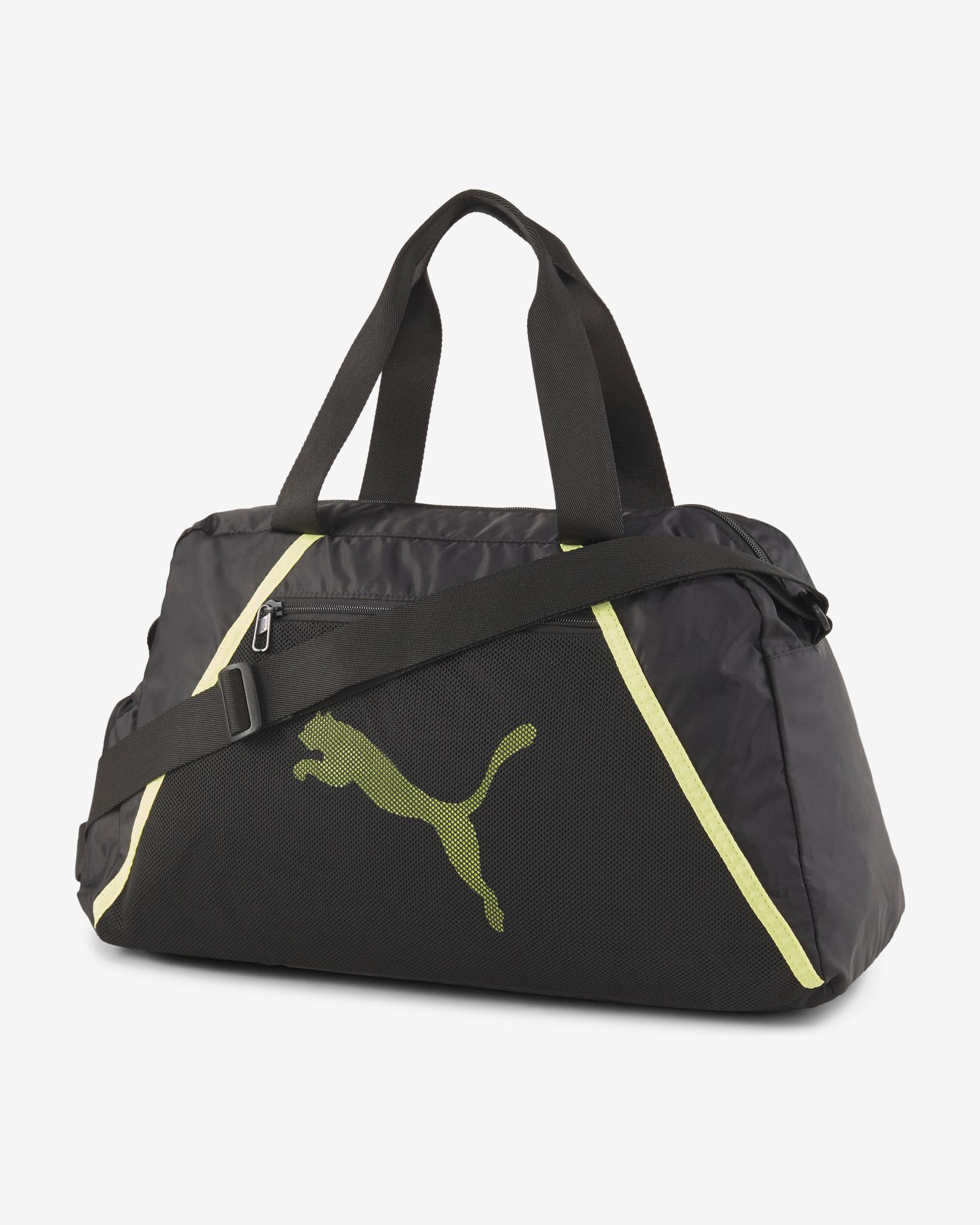 Puma negre geanta At Ess Grip