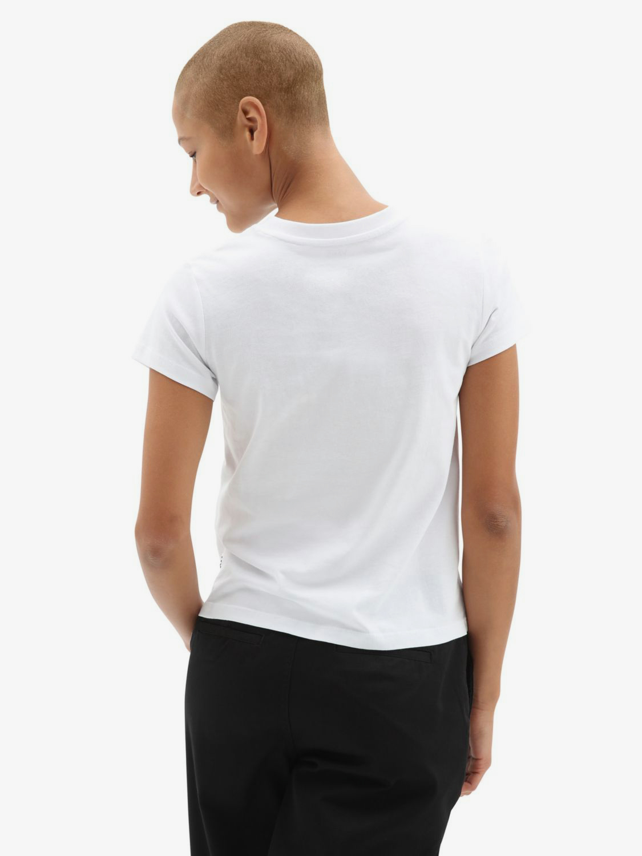 Vans albe tricou