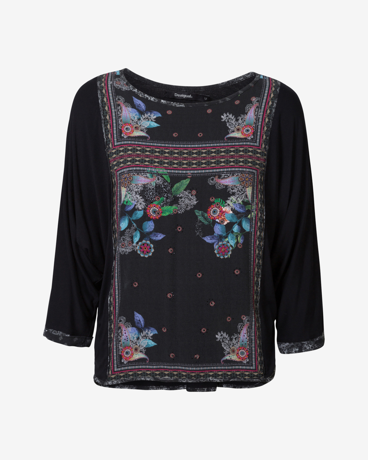 Desigual negre de dama tricou Orinoco
