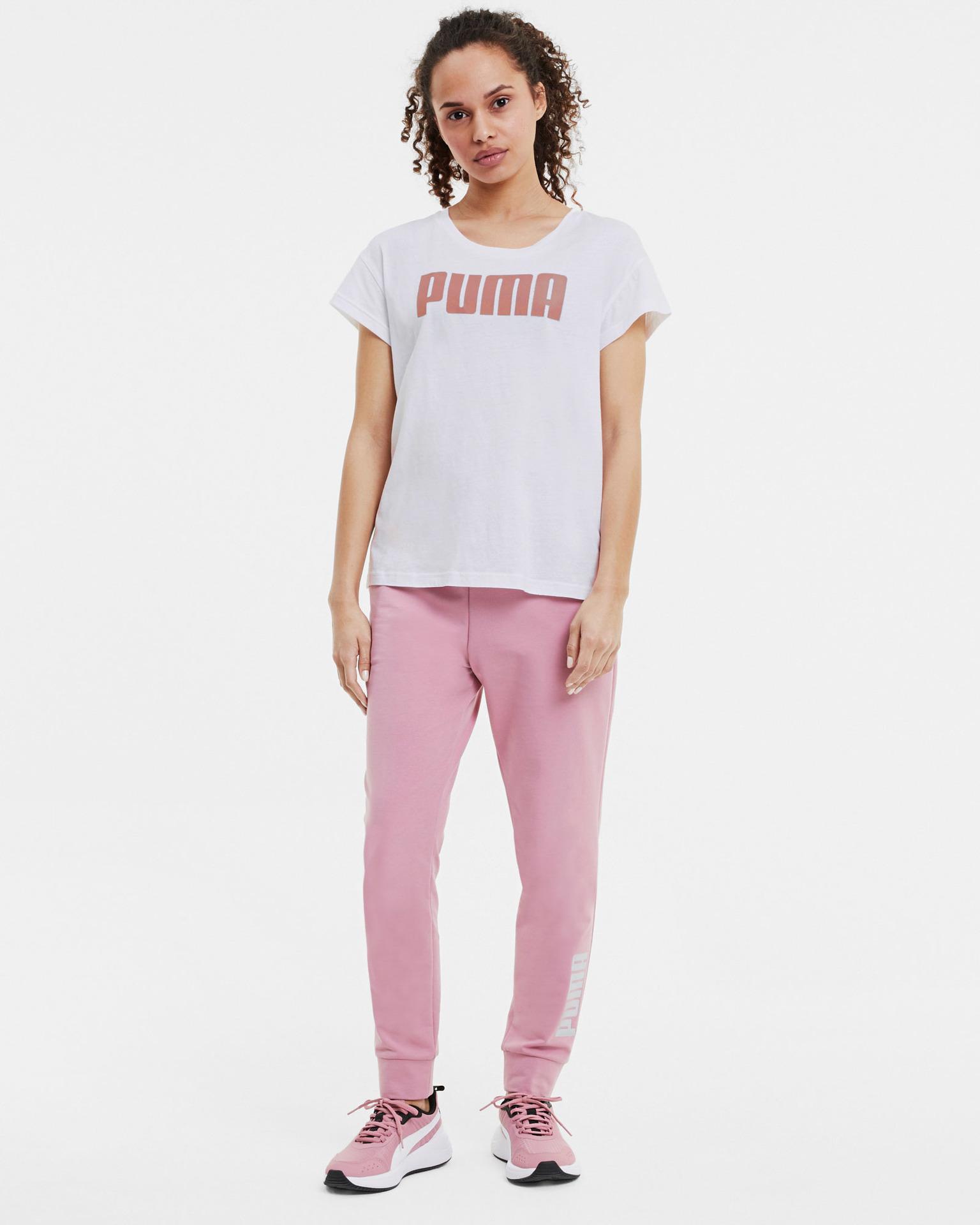 Puma albe de dama tricou Active