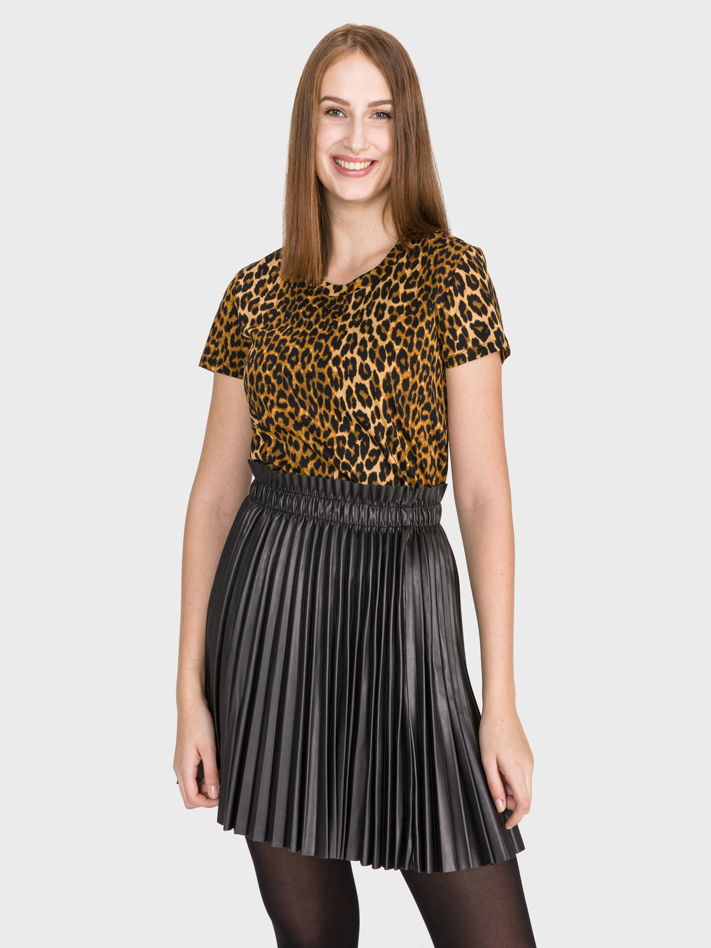 Tricouri pentru femei Scotch & Soda - galben, maro