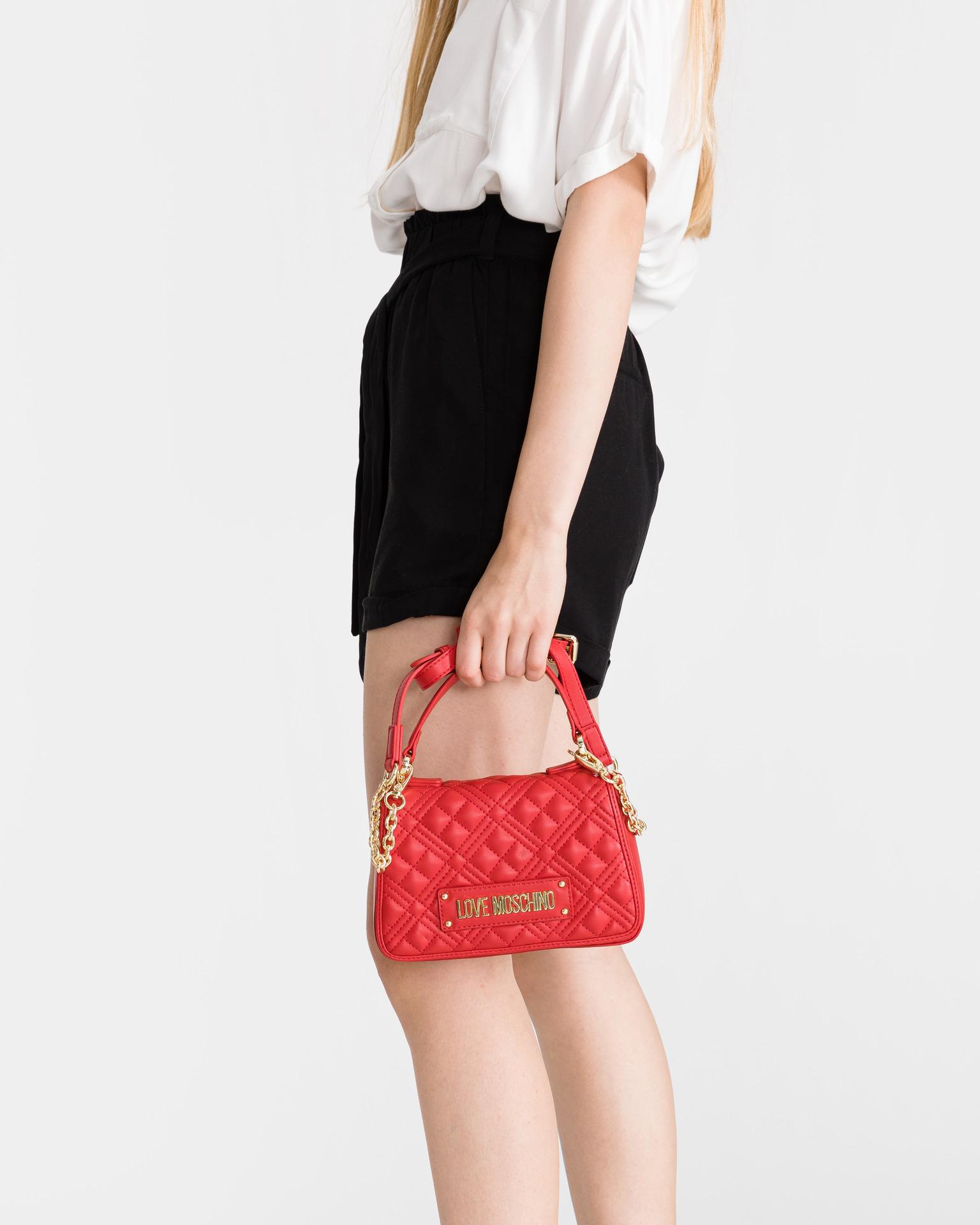Love Moschino roșii geanta
