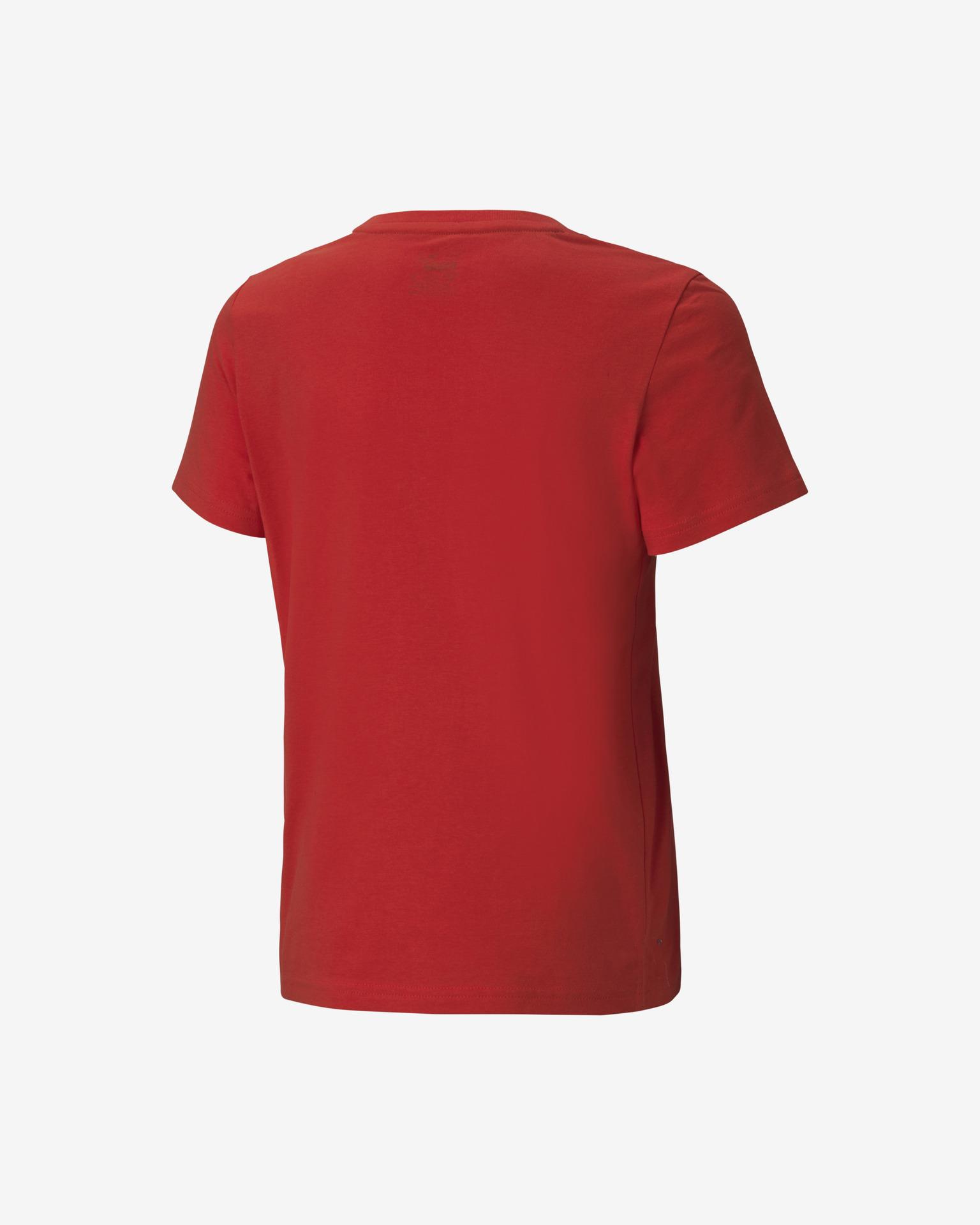 Puma Alpha Graphic Tricou pentru copii Roșu