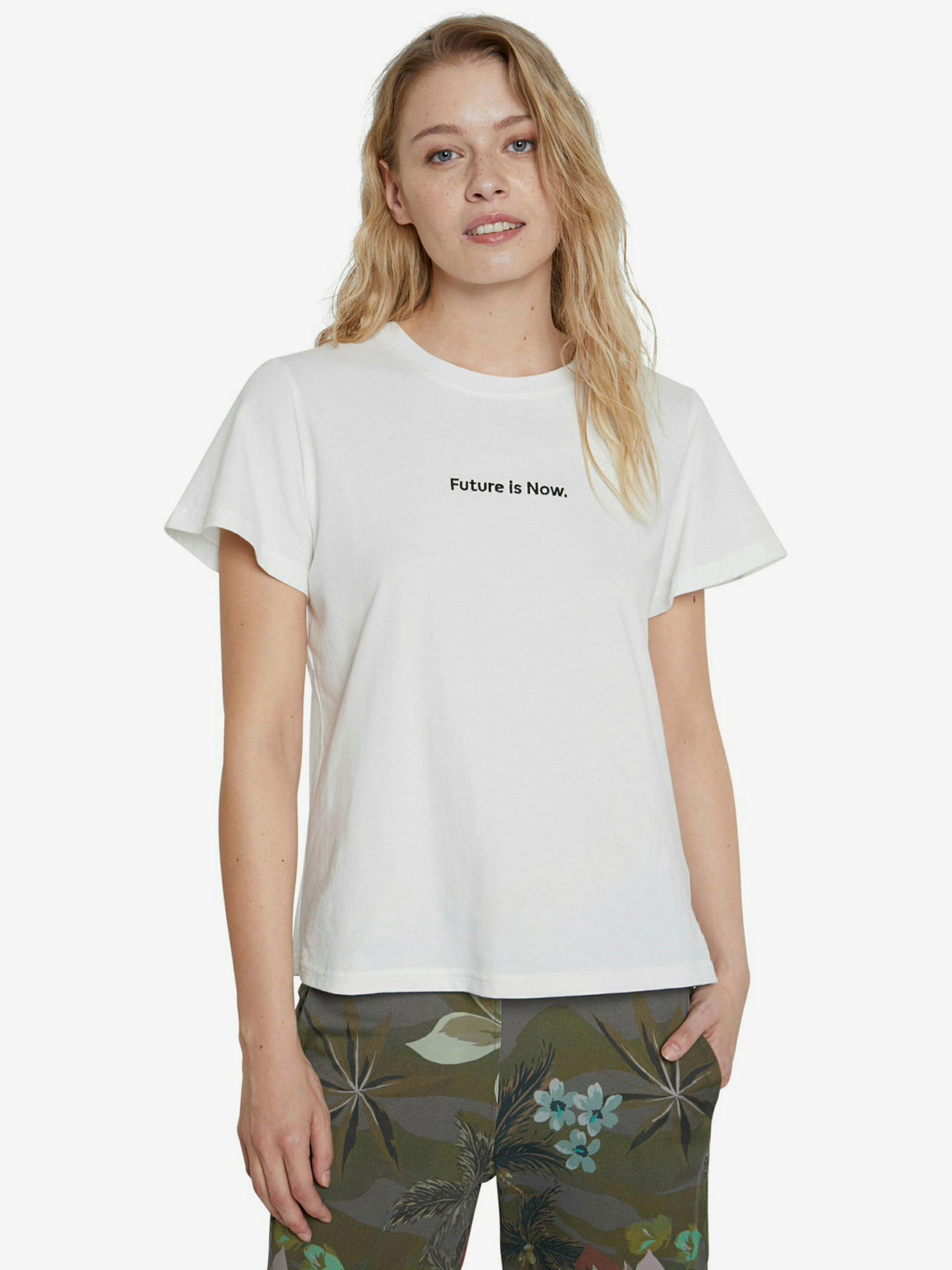 Desigual albe tricou