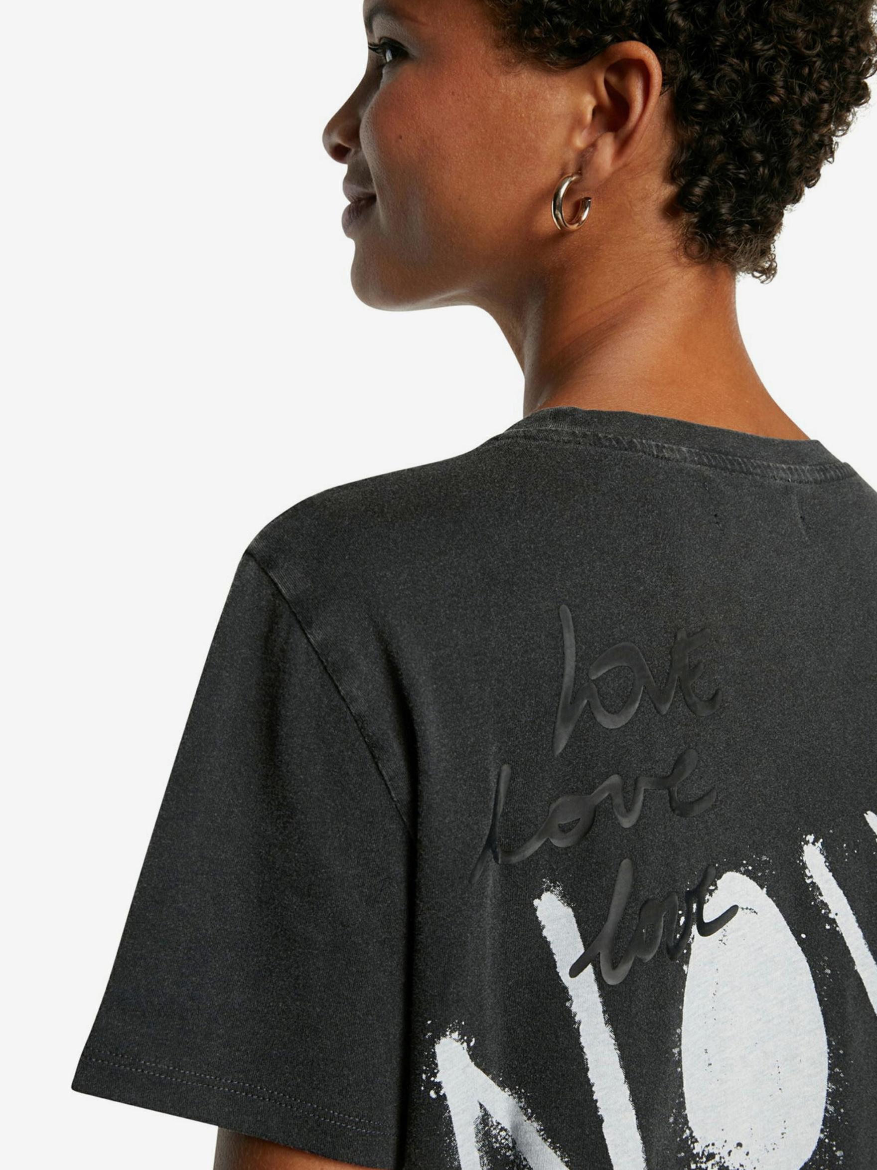 Desigual gri tricou Future